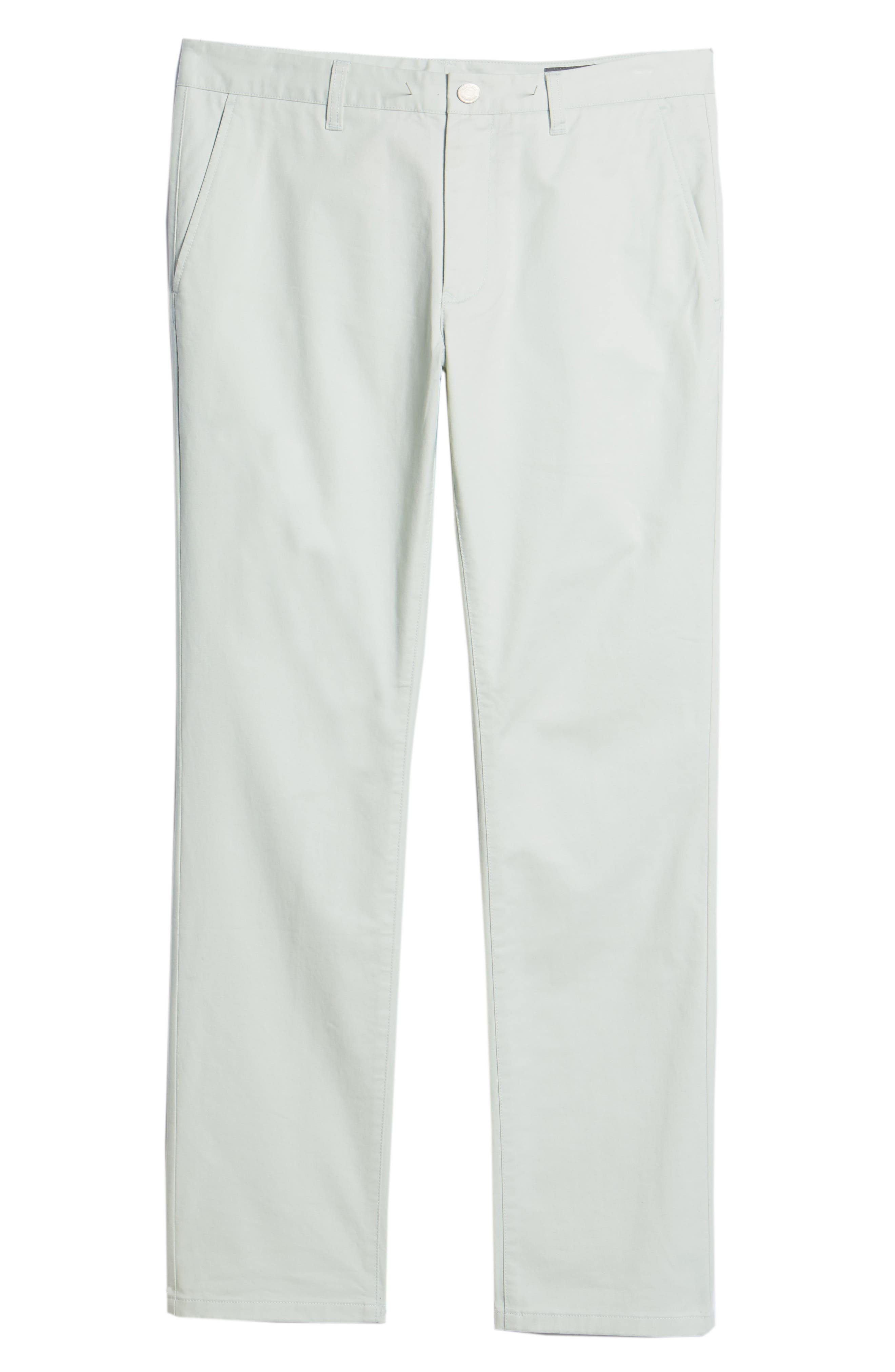 Tailored Fit Washed Stretch Cotton Chinos,                             Alternate thumbnail 192, color,