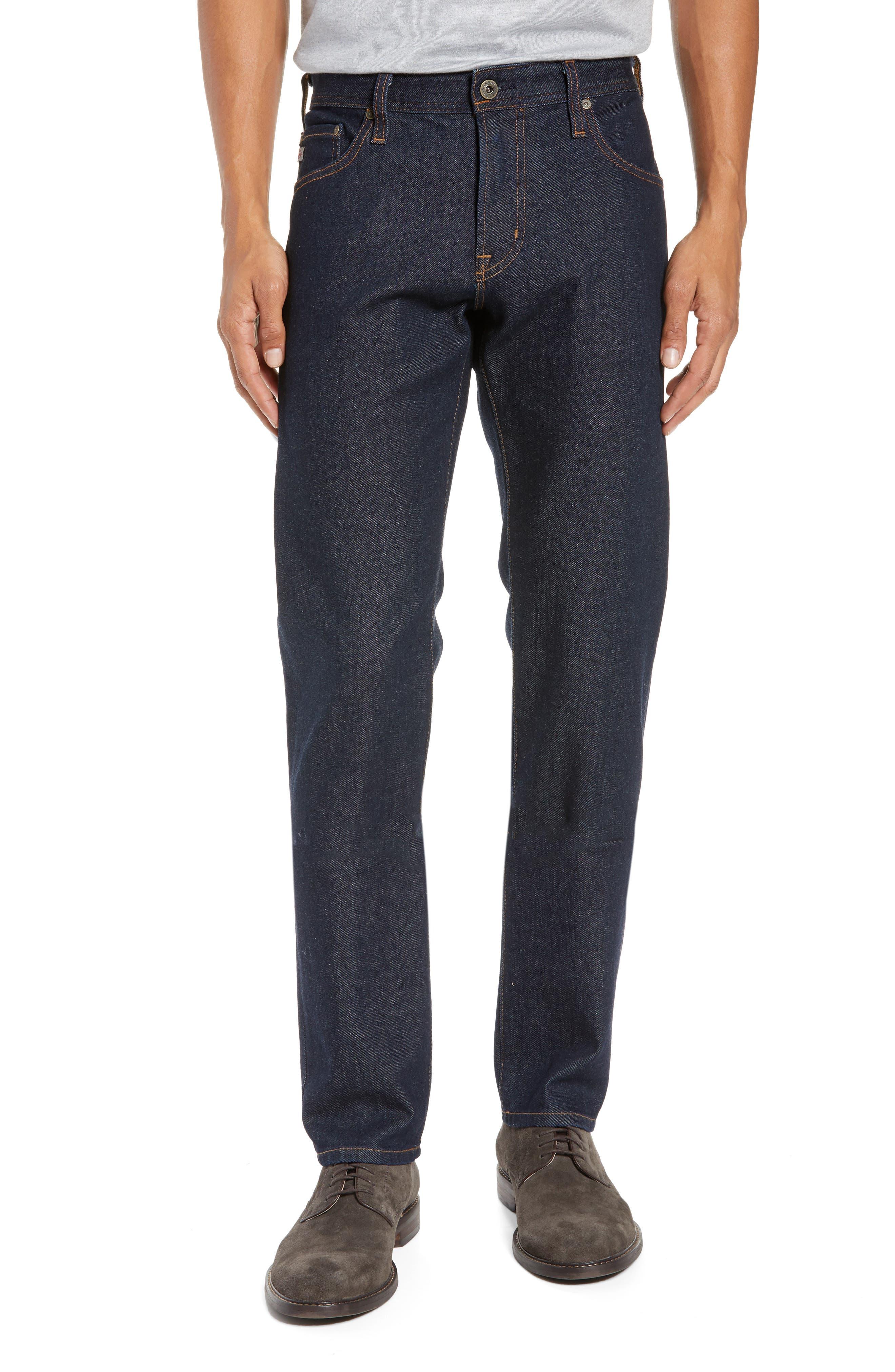Tellis Slim Fit Jeans,                             Main thumbnail 1, color,                             PARTRIDGE