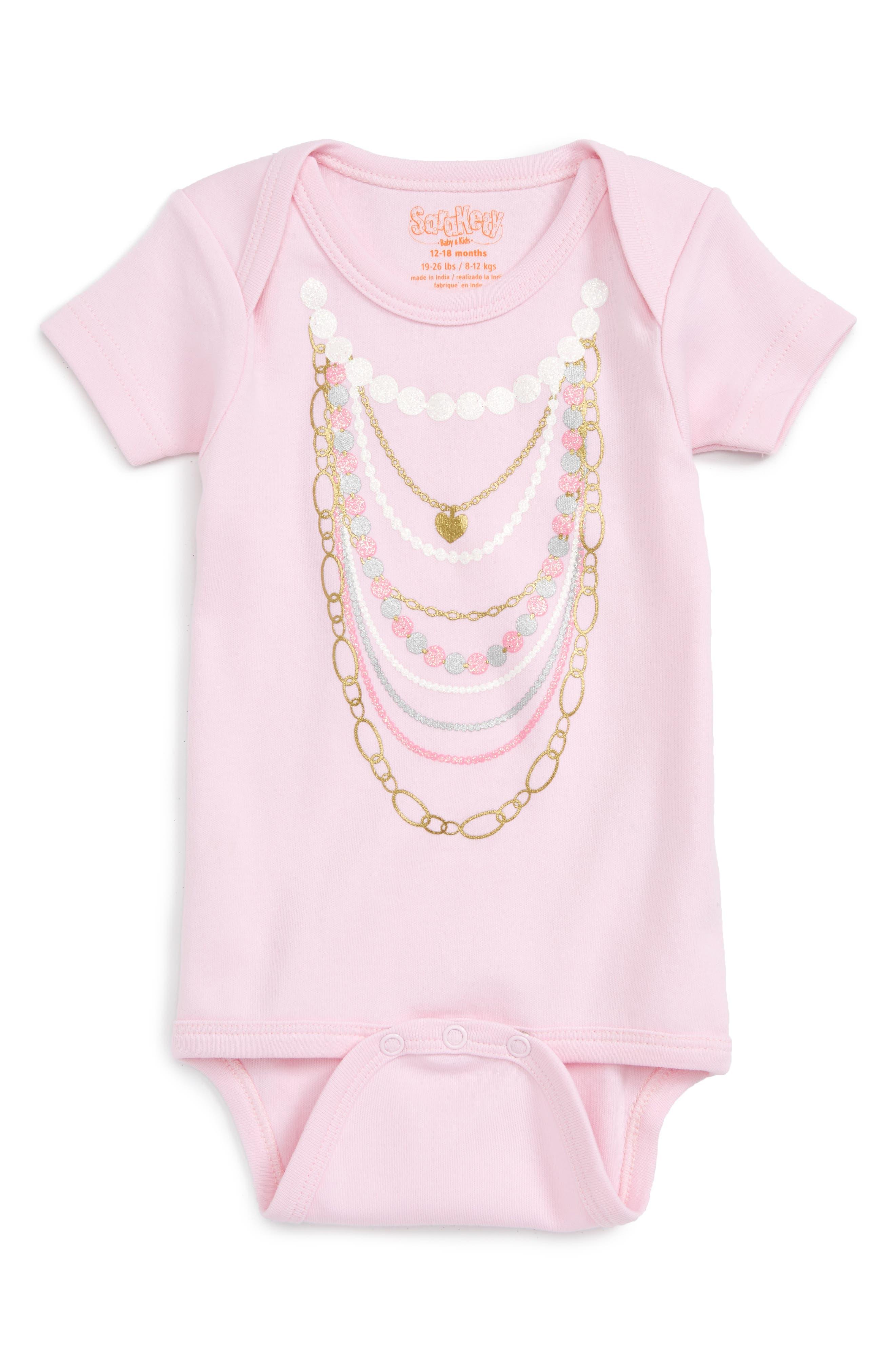 'Necklaces' Bodysuit,                         Main,                         color, 650