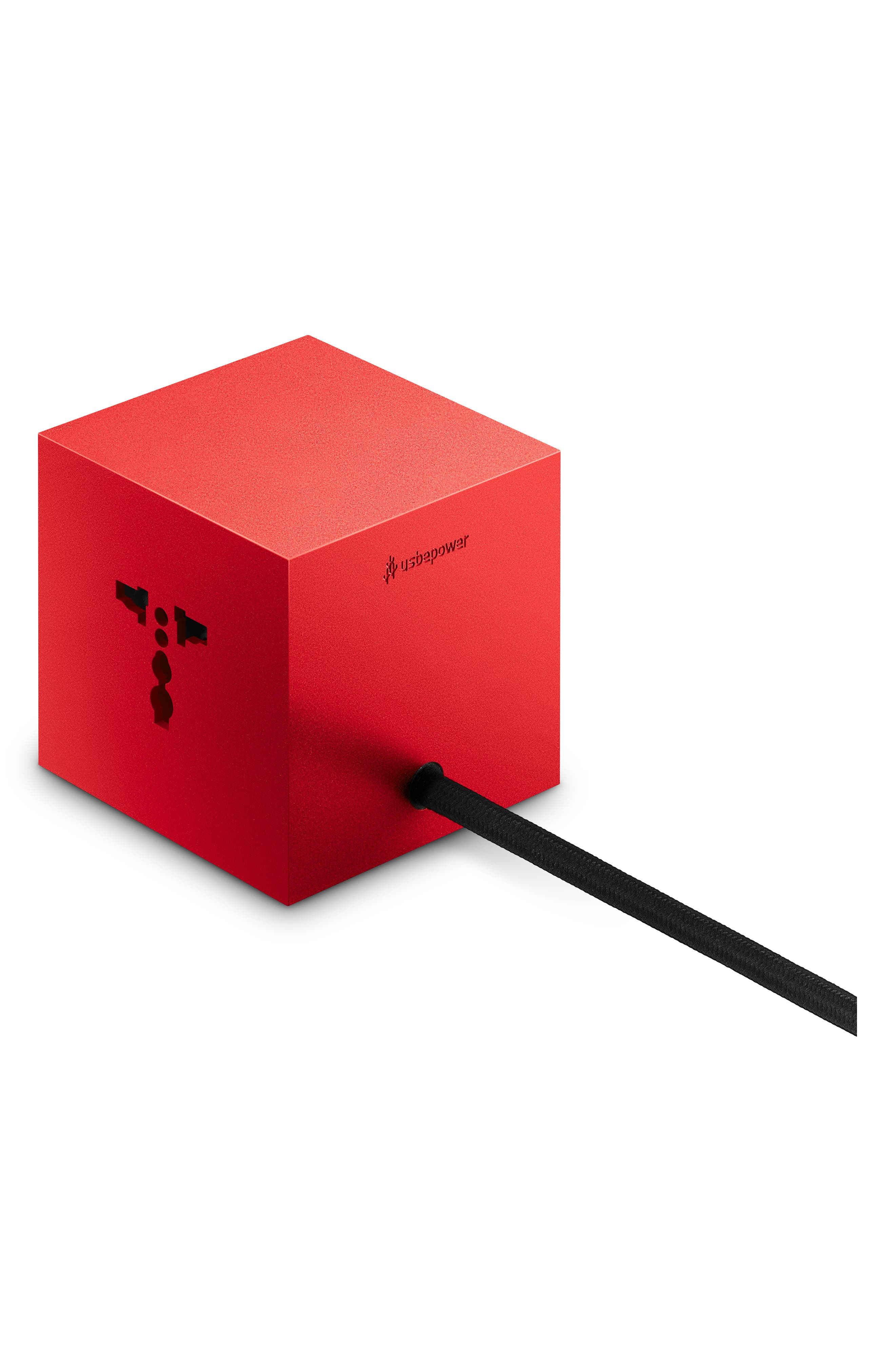 Icon Genius Cube Universal Hub,                             Alternate thumbnail 2, color,                             RED