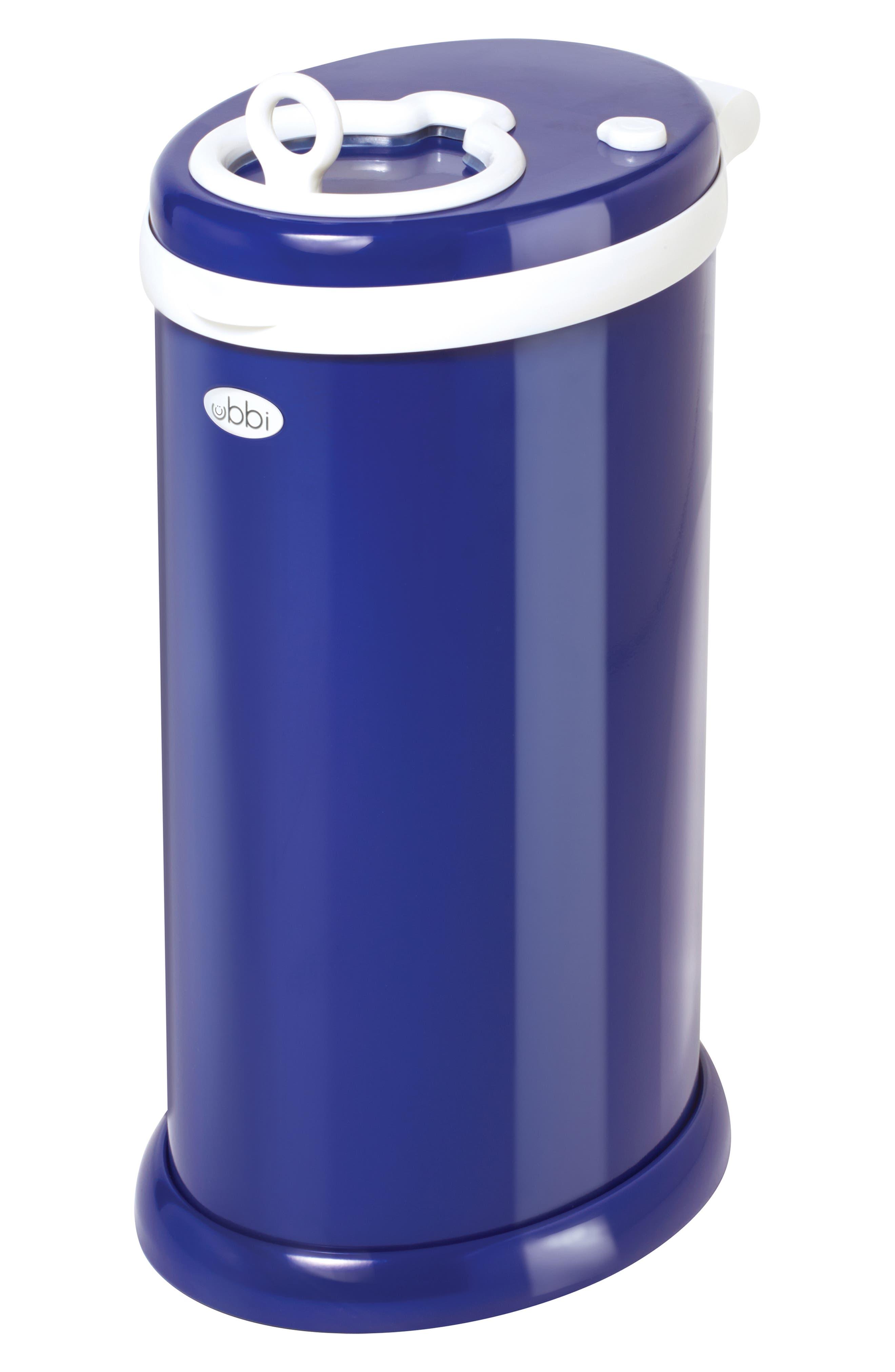 Ubbi Diaper Pail Size One Size  Blue