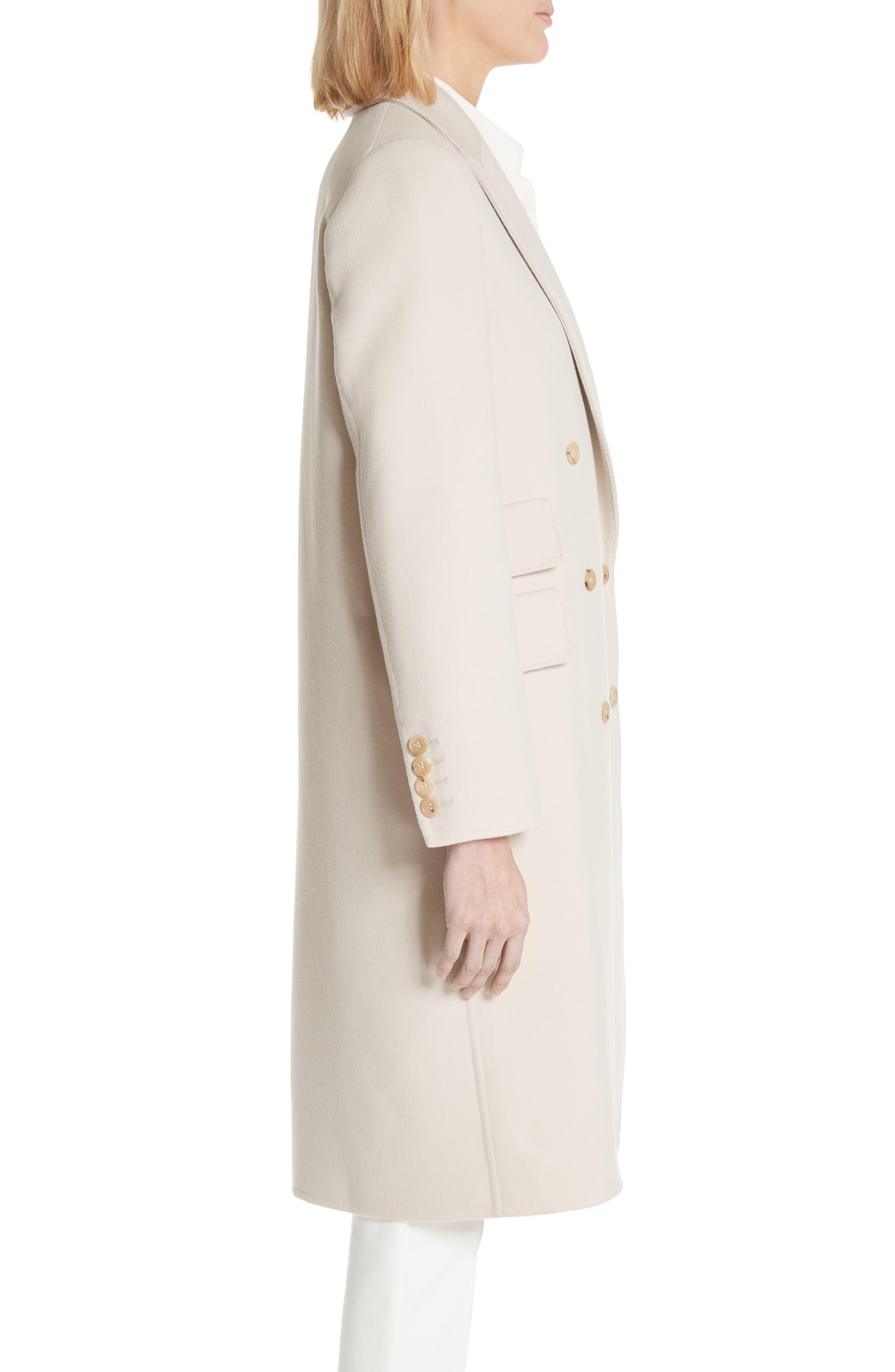 Armonia Wool & Cashmere Coat,                             Alternate thumbnail 3, color,                             906