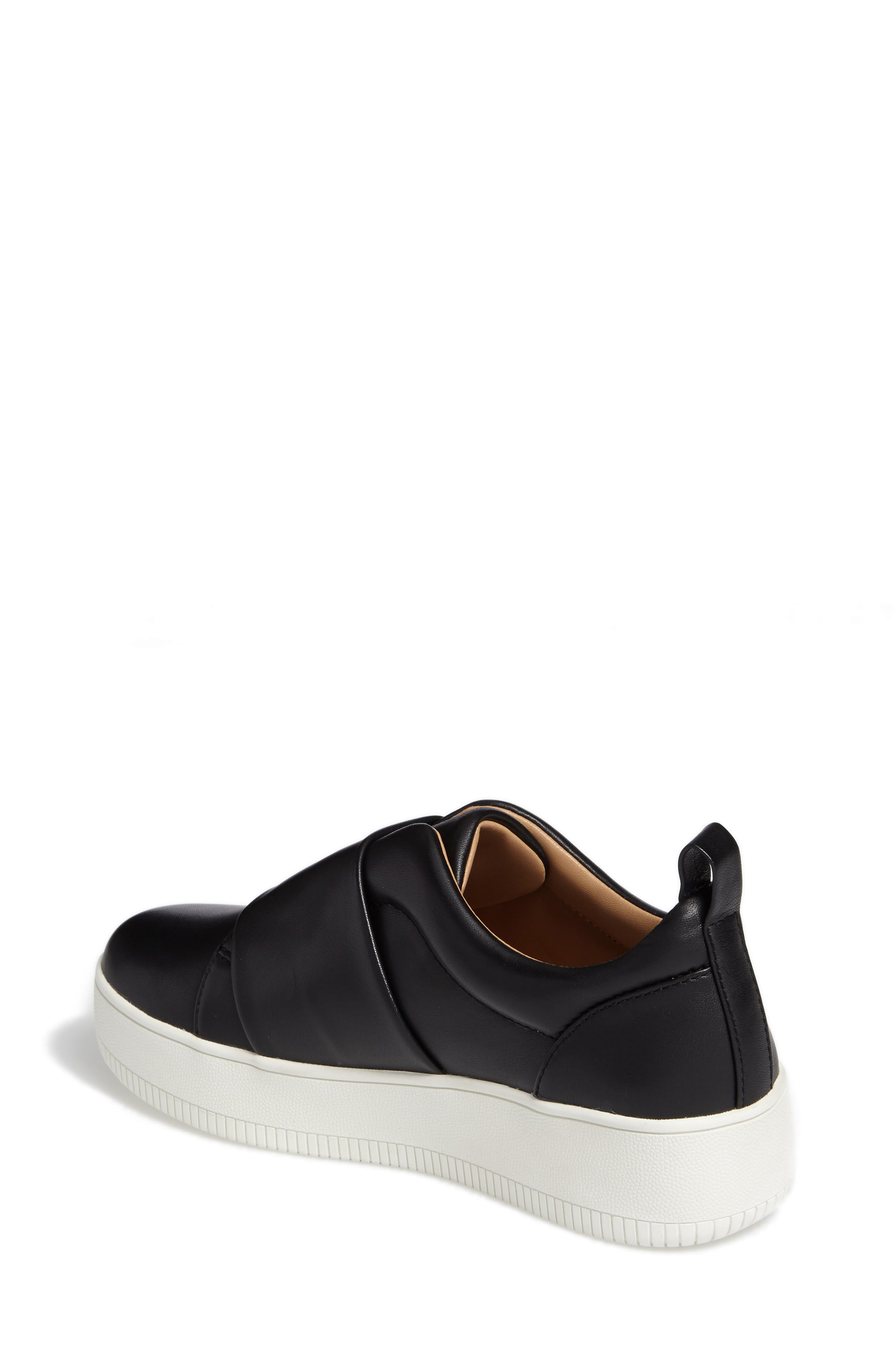 Suzie Platform Sneaker,                             Alternate thumbnail 2, color,                             001