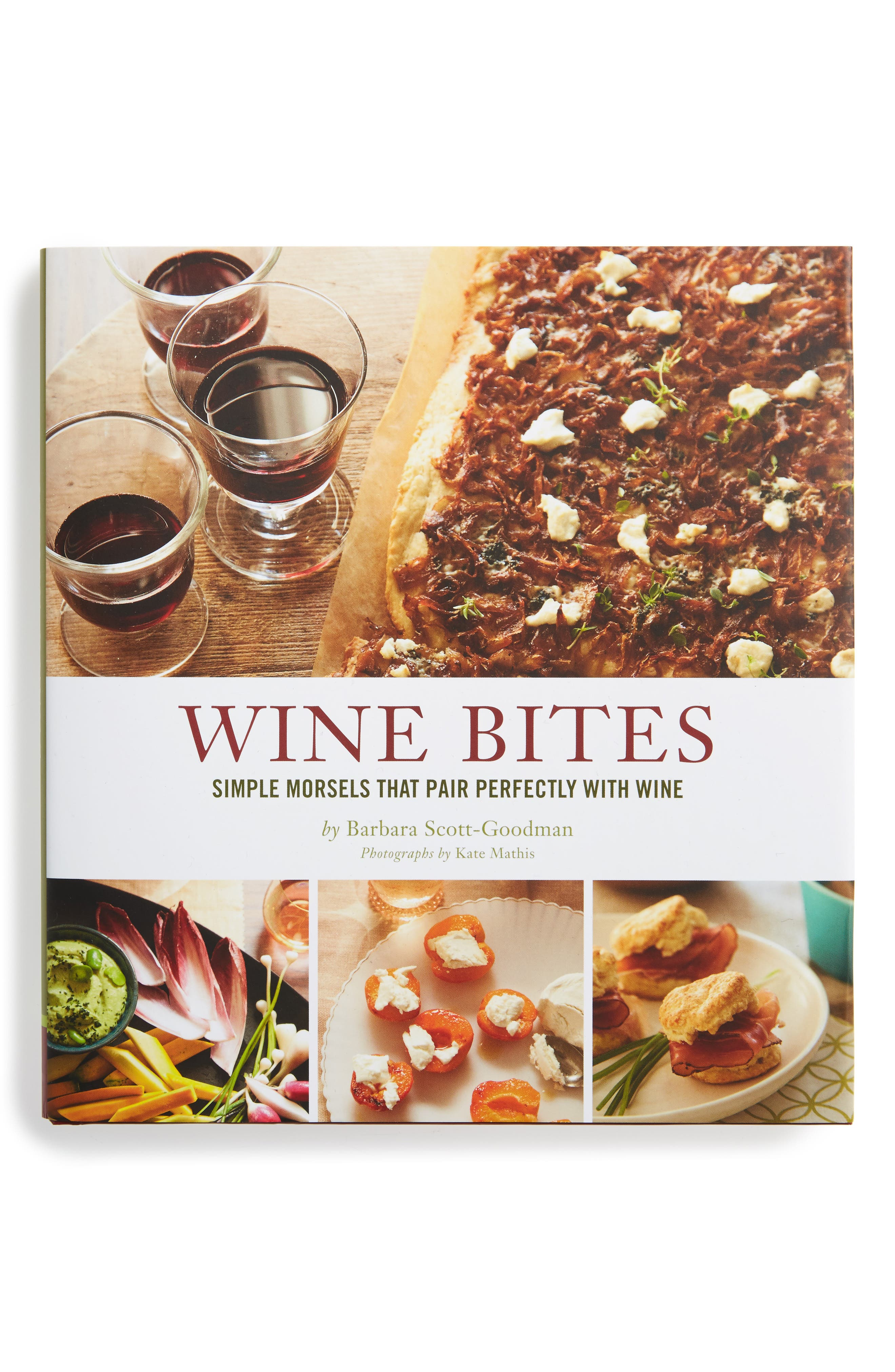 'Wine Bites' Cookbook,                             Alternate thumbnail 2, color,                             000