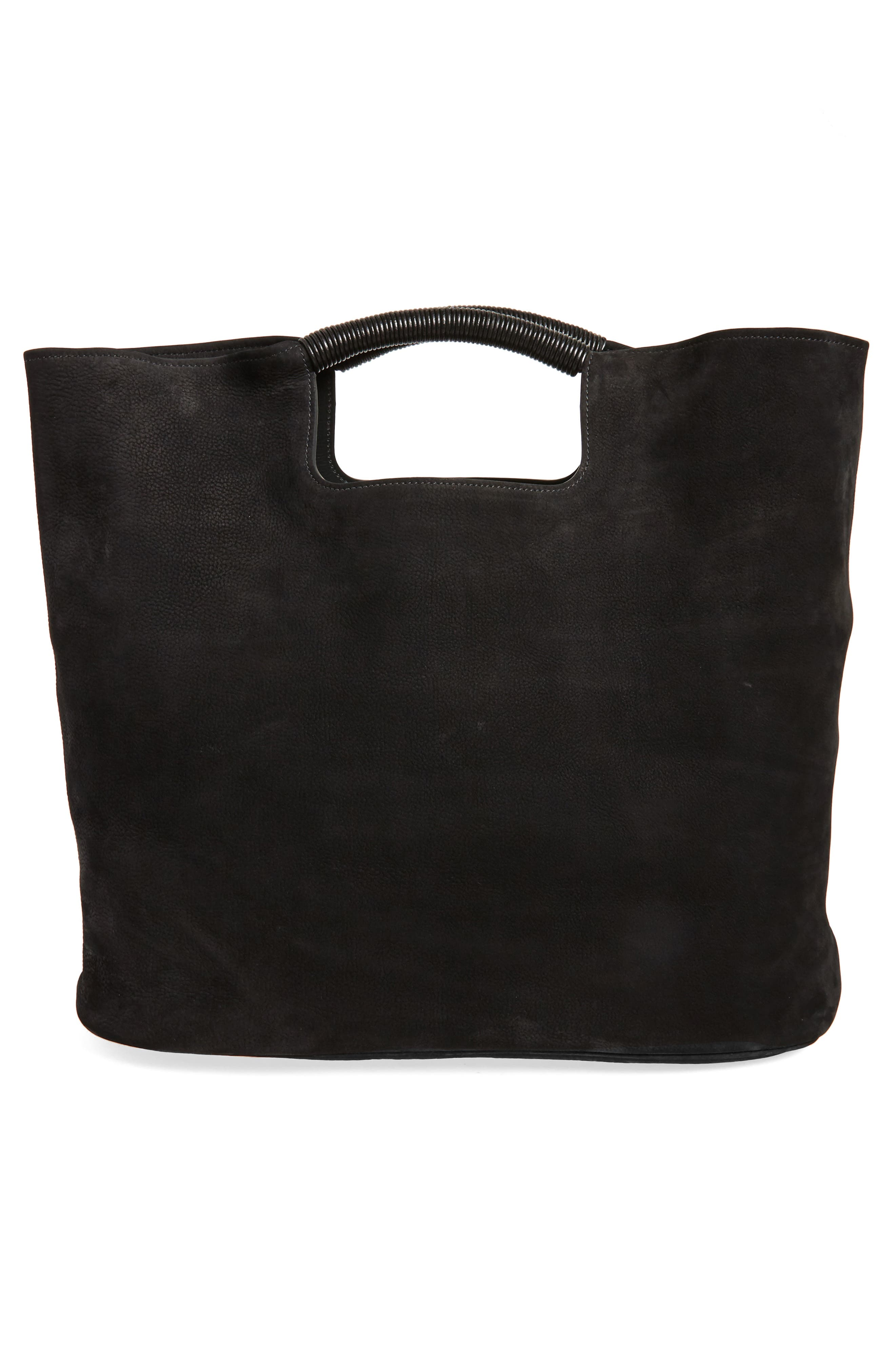 Birch Nubuck Tote,                             Alternate thumbnail 3, color,                             001
