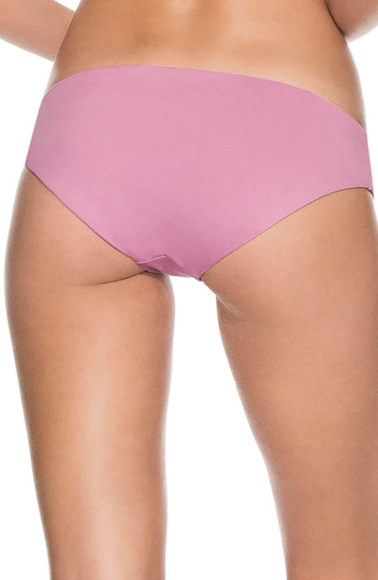 Mauve Sublime Signature Reversible Bikini Bottoms,                             Alternate thumbnail 2, color,                             655