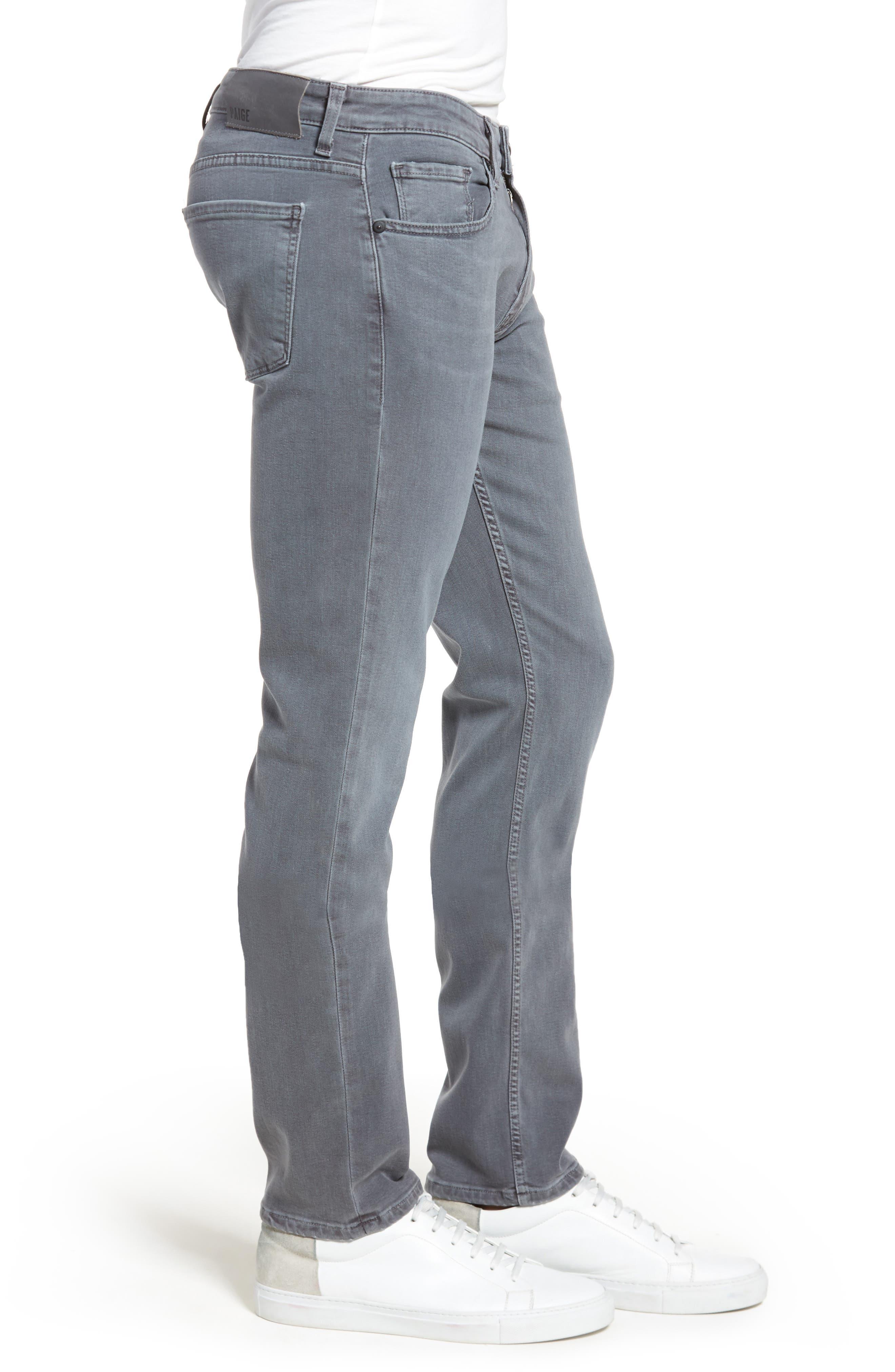 Transcend - Lennox Slim Fit Jeans,                             Alternate thumbnail 3, color,                             020
