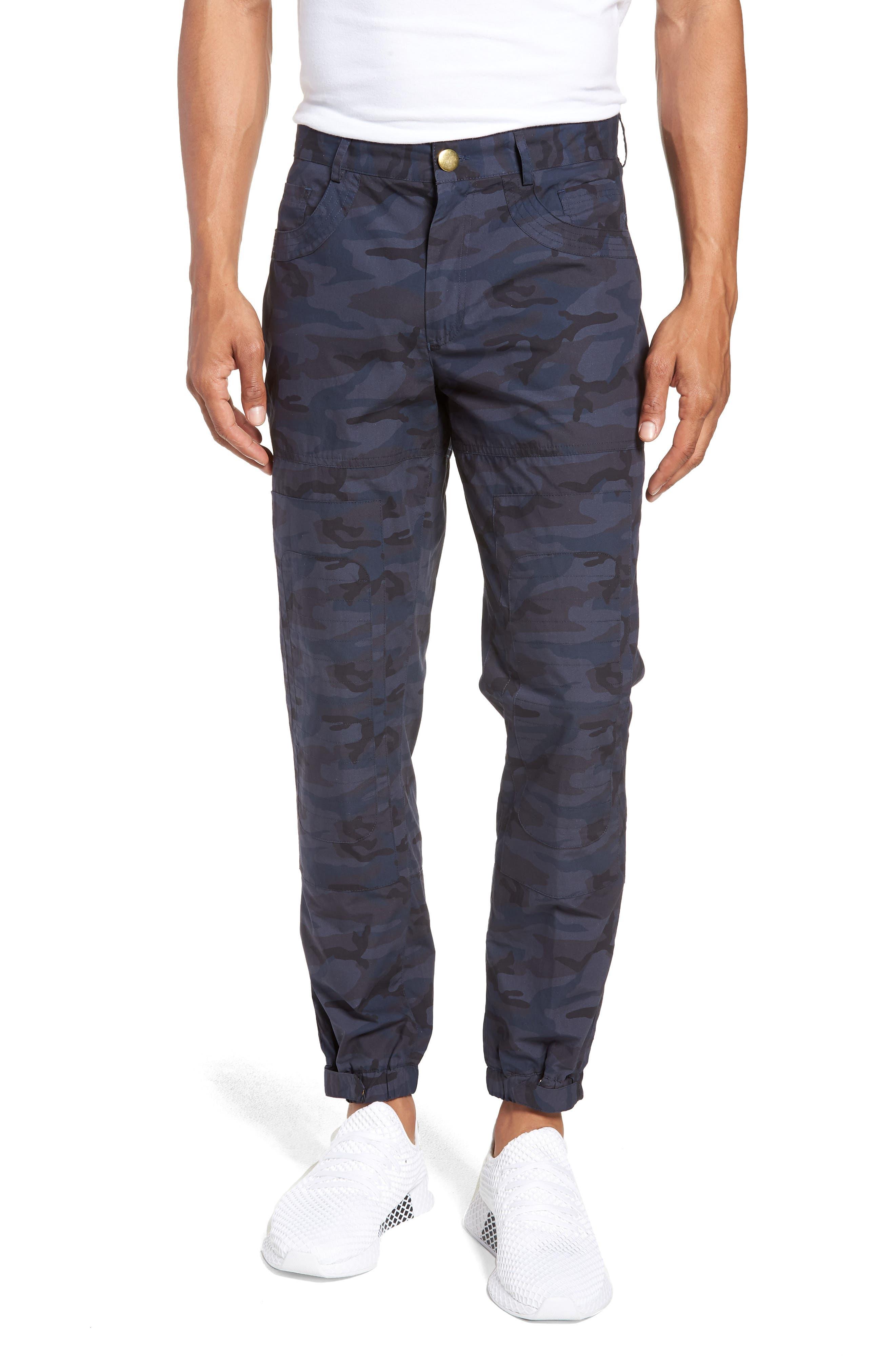 Camo Moto Pants,                             Main thumbnail 1, color,                             001