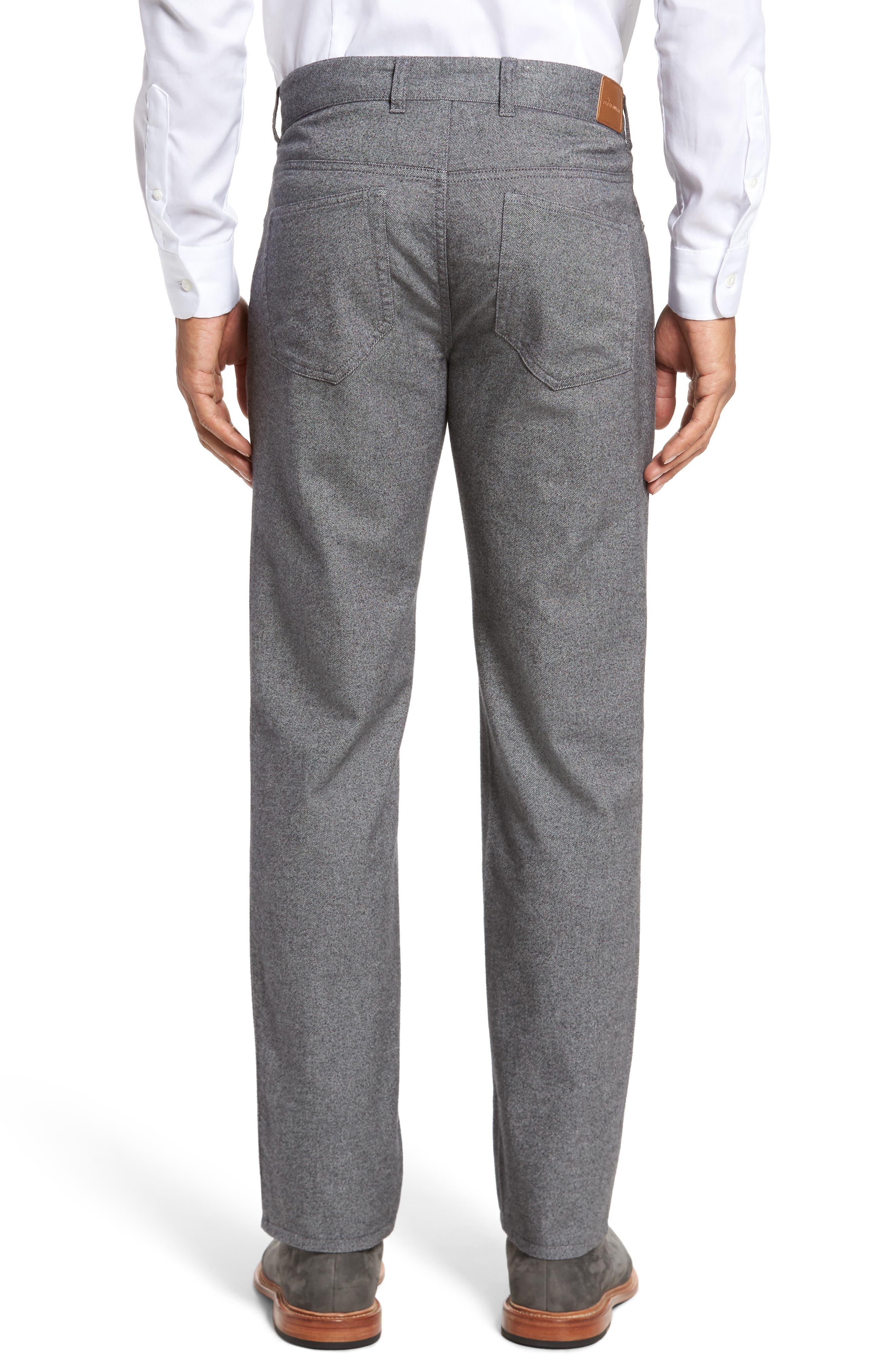 Mountainside Flannel Five-Pocket Pants,                             Alternate thumbnail 2, color,                             033