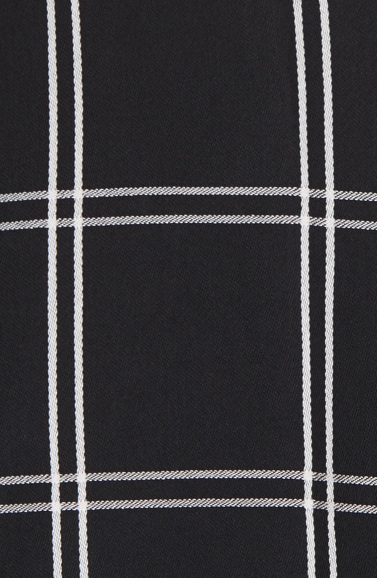 Check Handkerchief Top,                             Alternate thumbnail 5, color,                             001