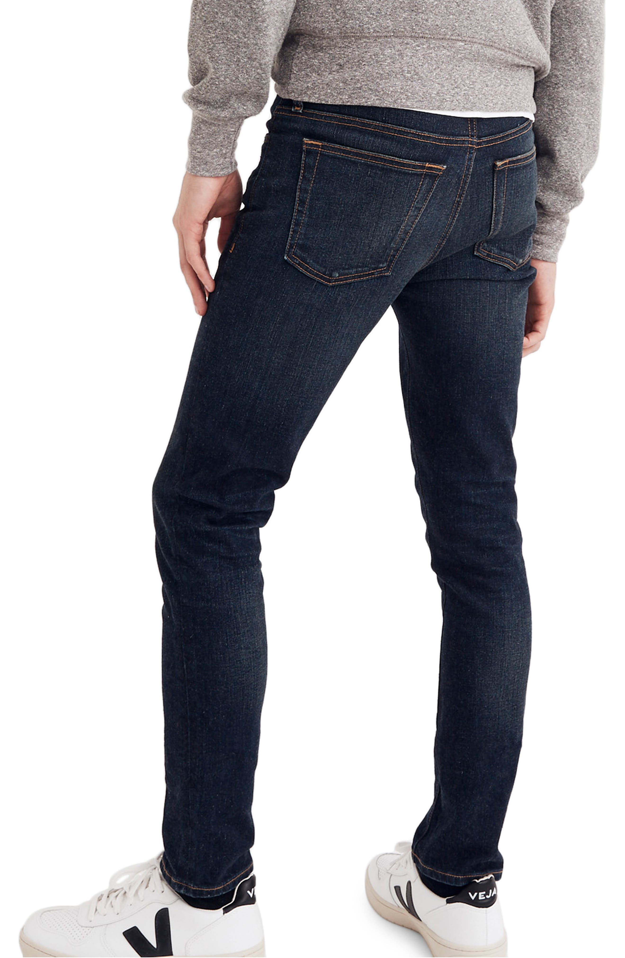 Skinny Fit Jeans,                             Alternate thumbnail 2, color,                             HENEY