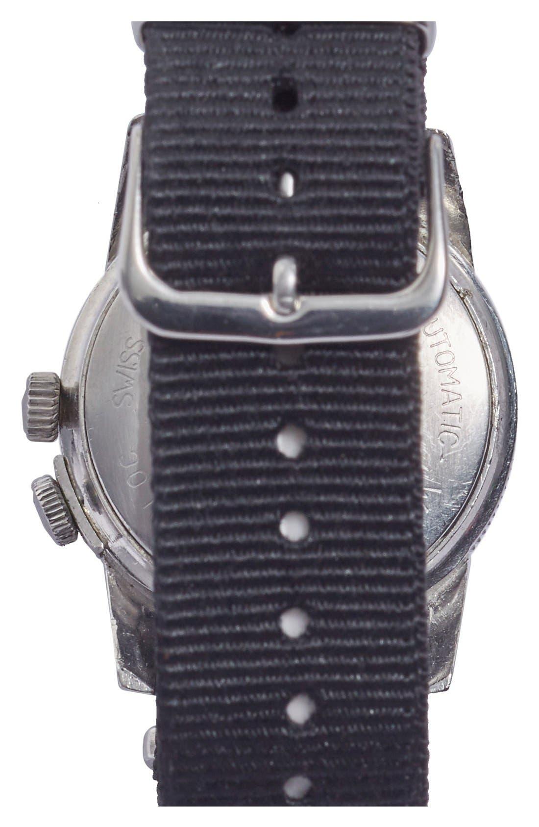 FOOTHILLS CA,                             'Glycine Airman' Vintage Vietnam Pilot's Watch, 37mm,                             Alternate thumbnail 2, color,                             001