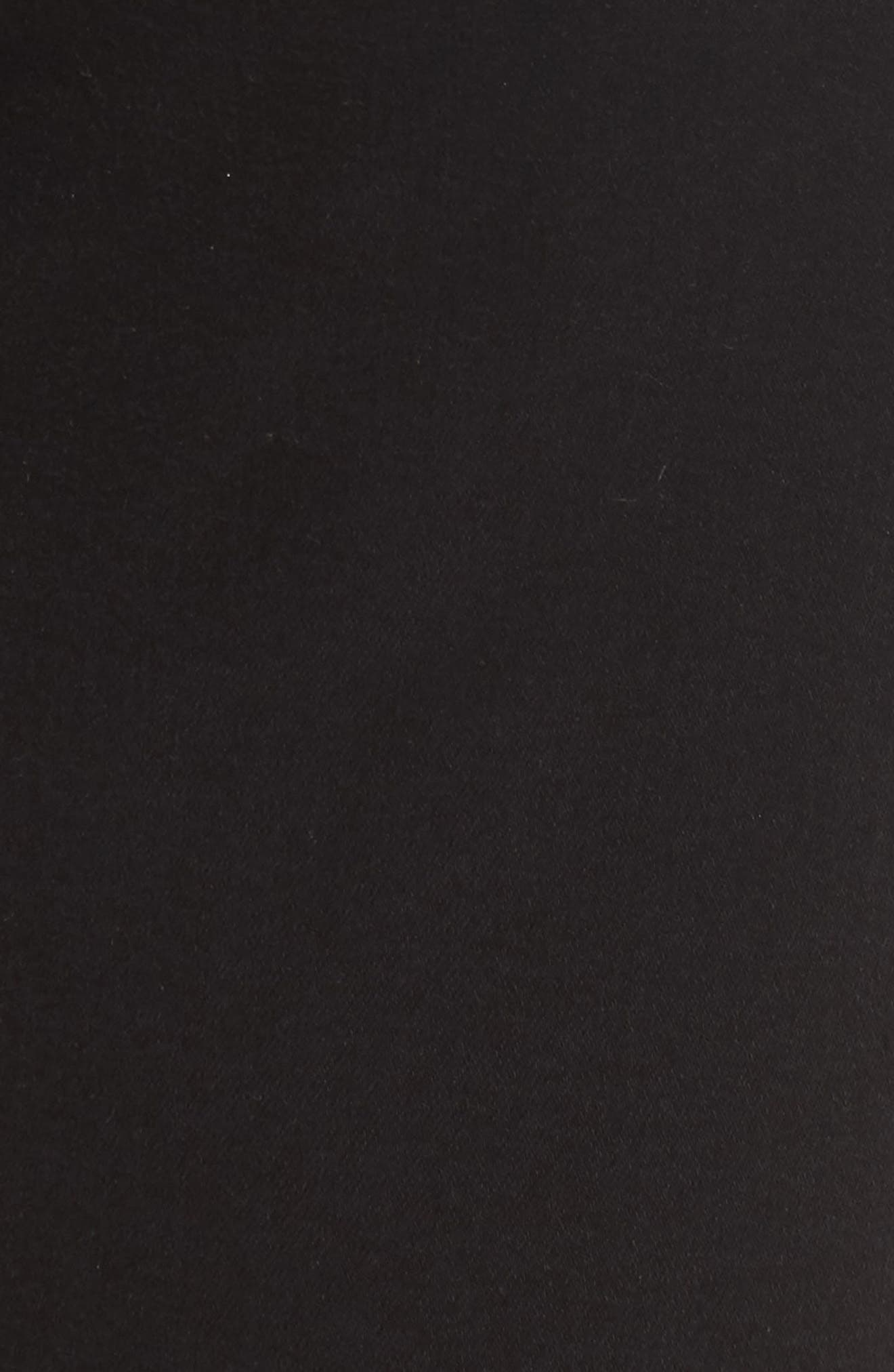 b(air) High Waist Skinny Jeans,                             Alternate thumbnail 6, color,                             B(AIR) BLACK