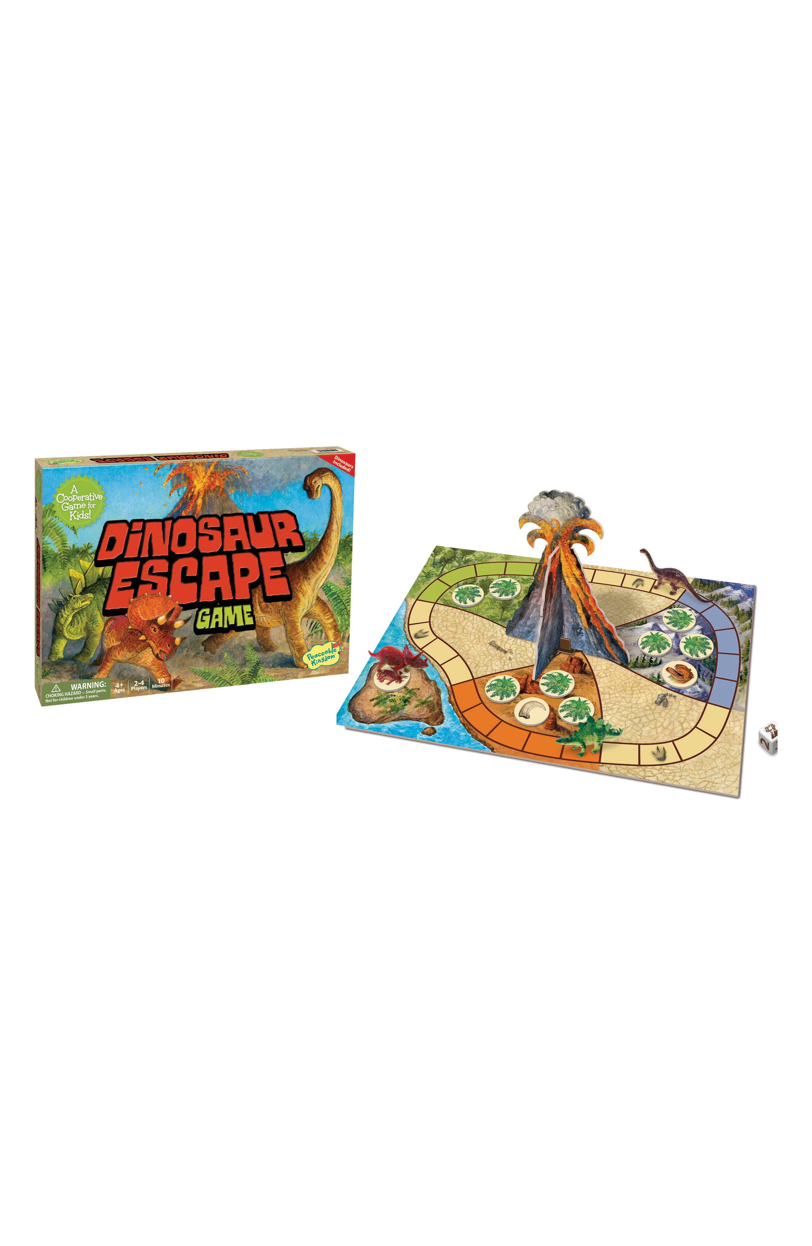 Dinosaur Escape Cooperative Board Game,                             Alternate thumbnail 3, color,                             600