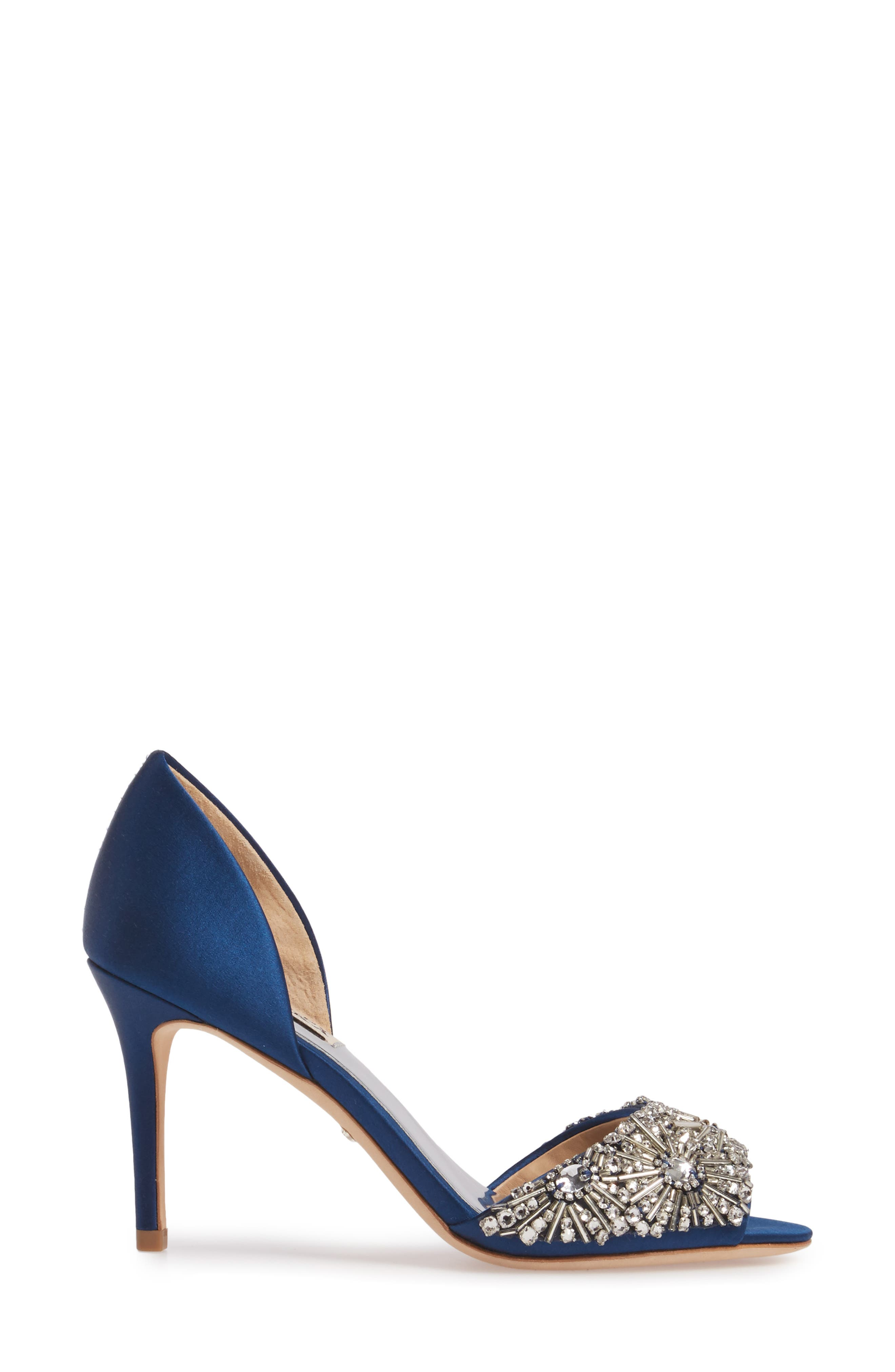 Maria Embellished d'Orsay Pump,                             Alternate thumbnail 15, color,