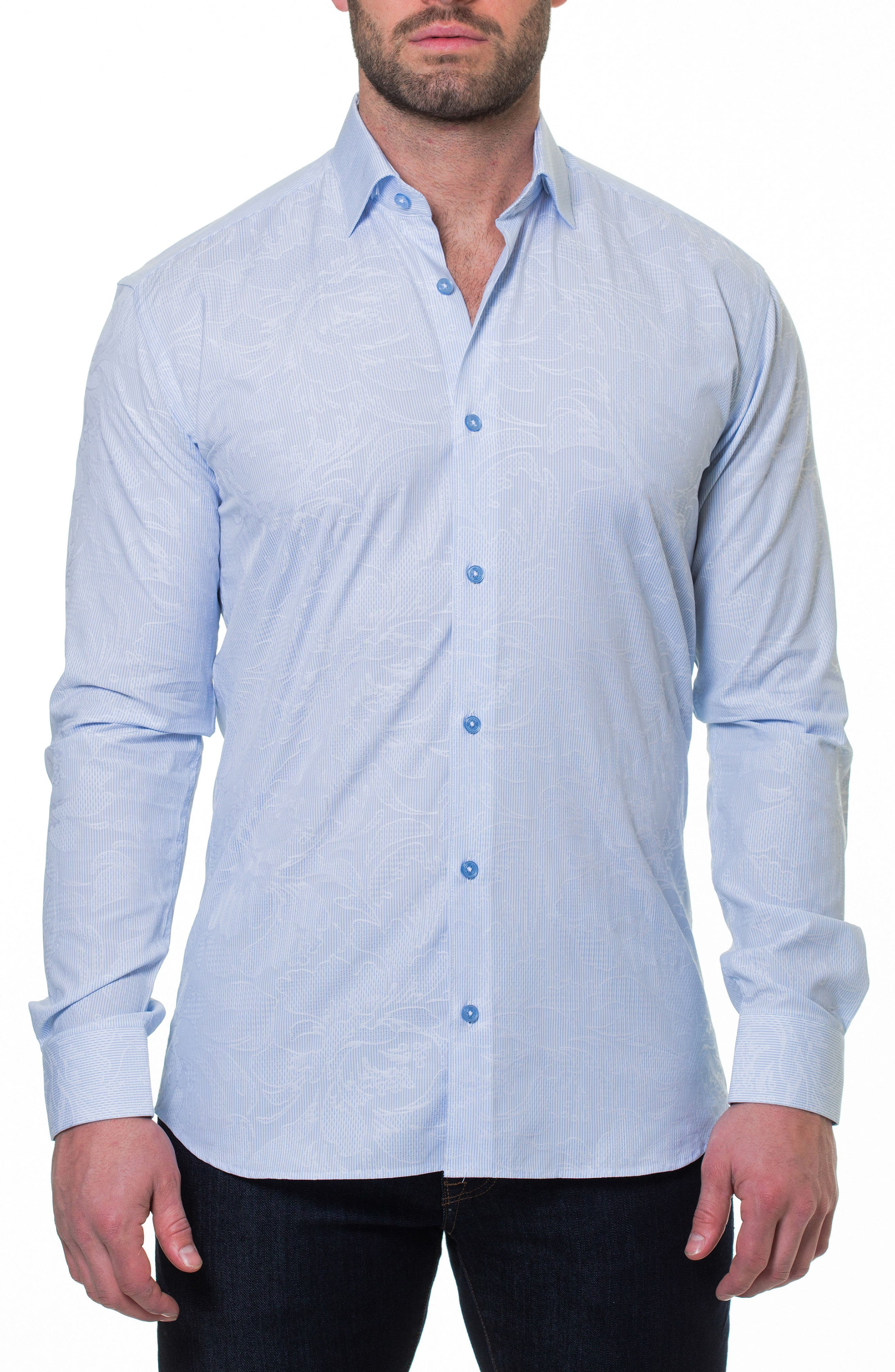 Luxor Flow Sport Shirt,                             Alternate thumbnail 4, color,                             420