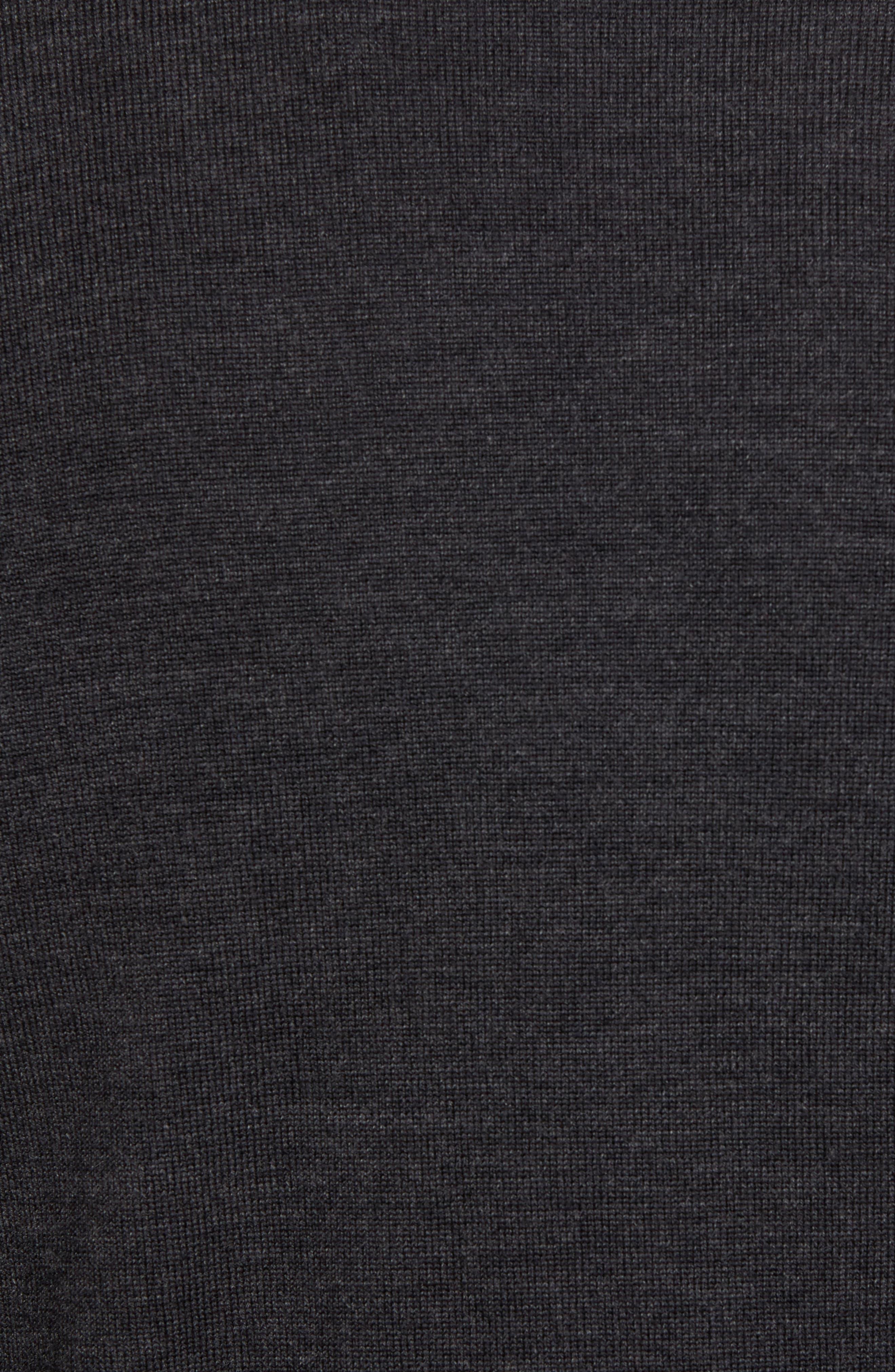 Merino Wool Blend V-Neck Sweater,                             Alternate thumbnail 5, color,                             020
