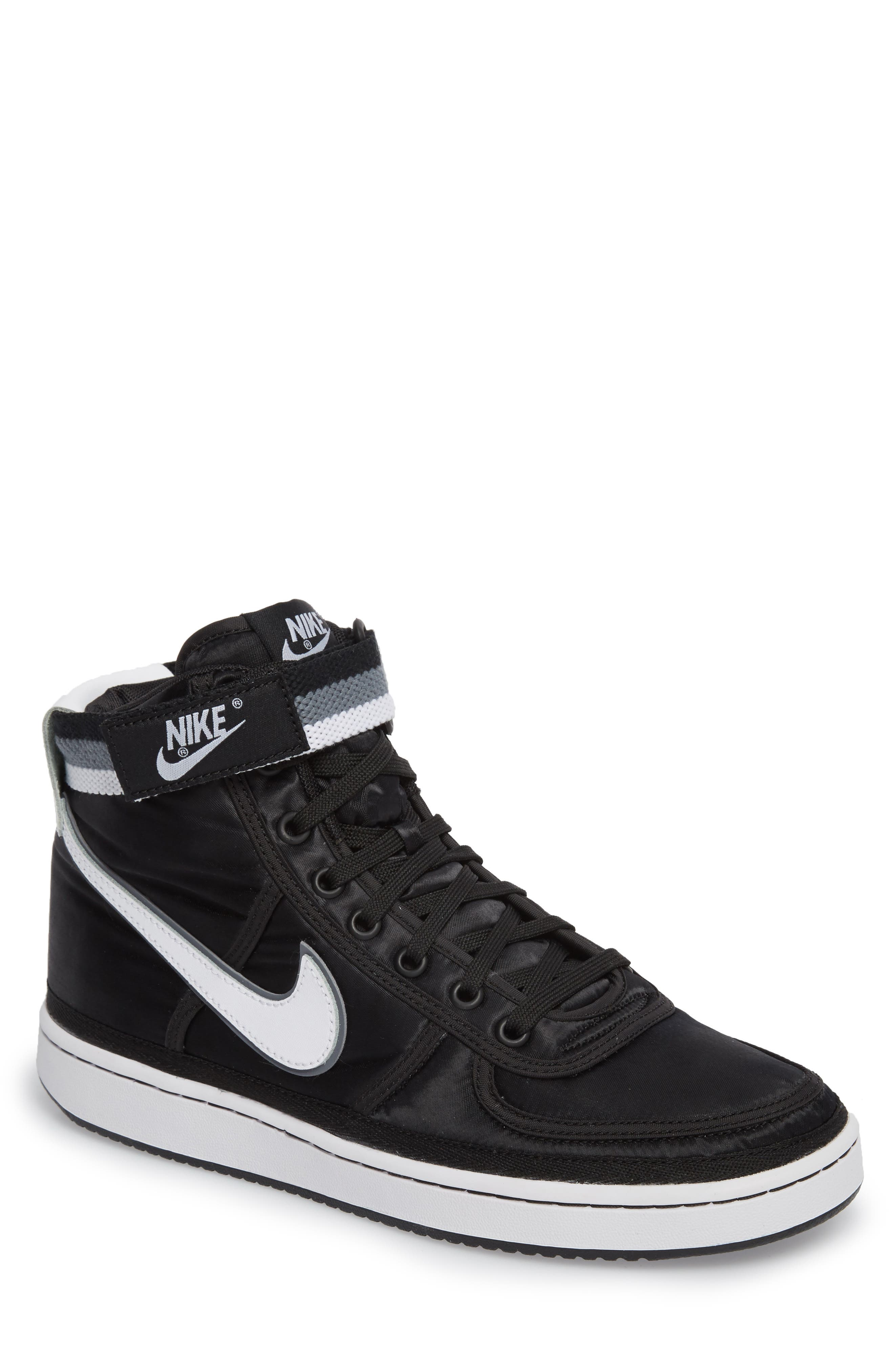 NIKE Vandal High Supreme High Top Sneaker, Main, color, 001