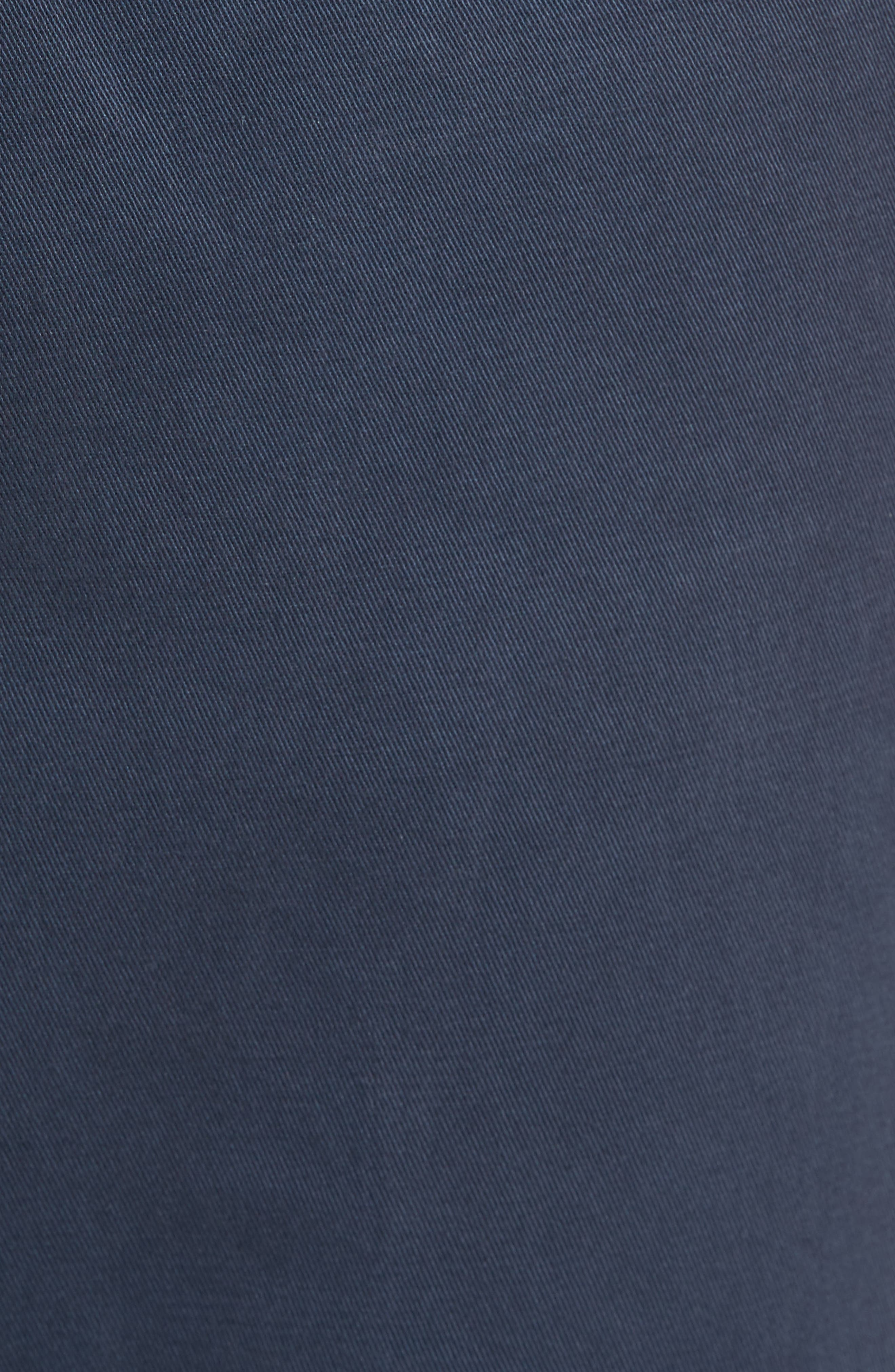 Classic Fit Military Chinos,                             Alternate thumbnail 5, color,                             NAVY