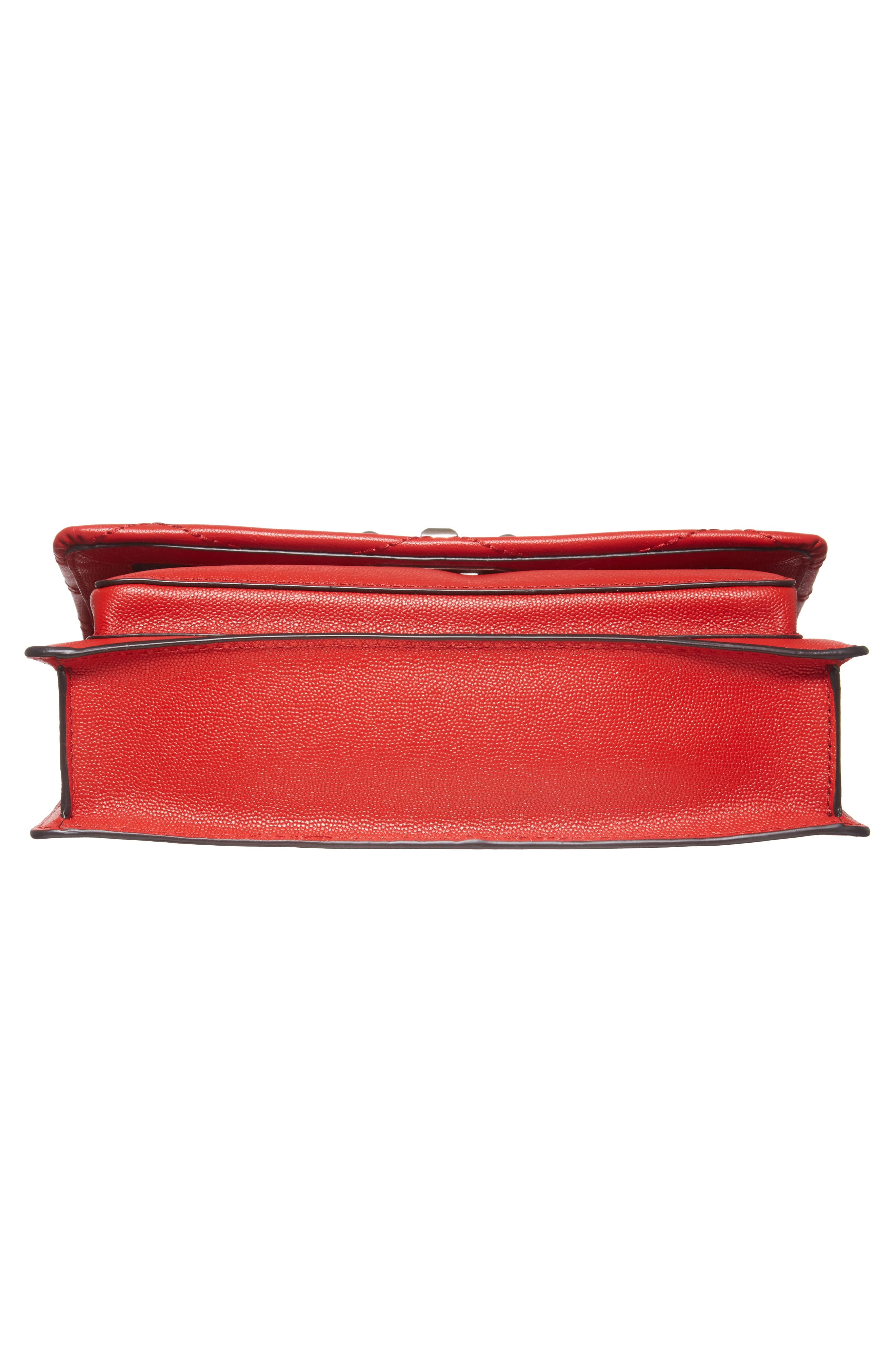 Medium Je T'aime Convertible Leather Crossbody Bag,                             Alternate thumbnail 57, color,