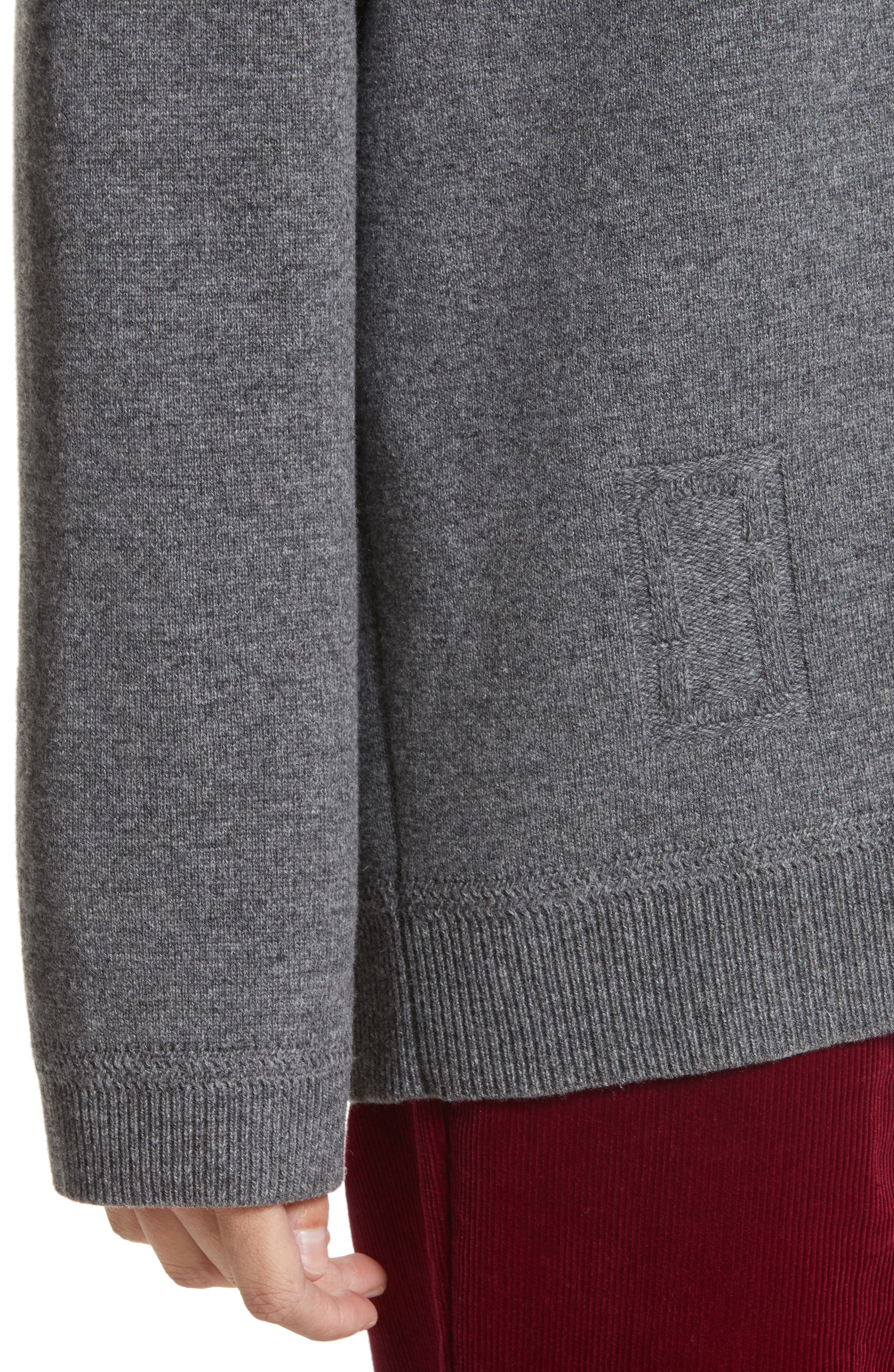 Wool & Cashmere Sweater,                             Alternate thumbnail 4, color,                             032