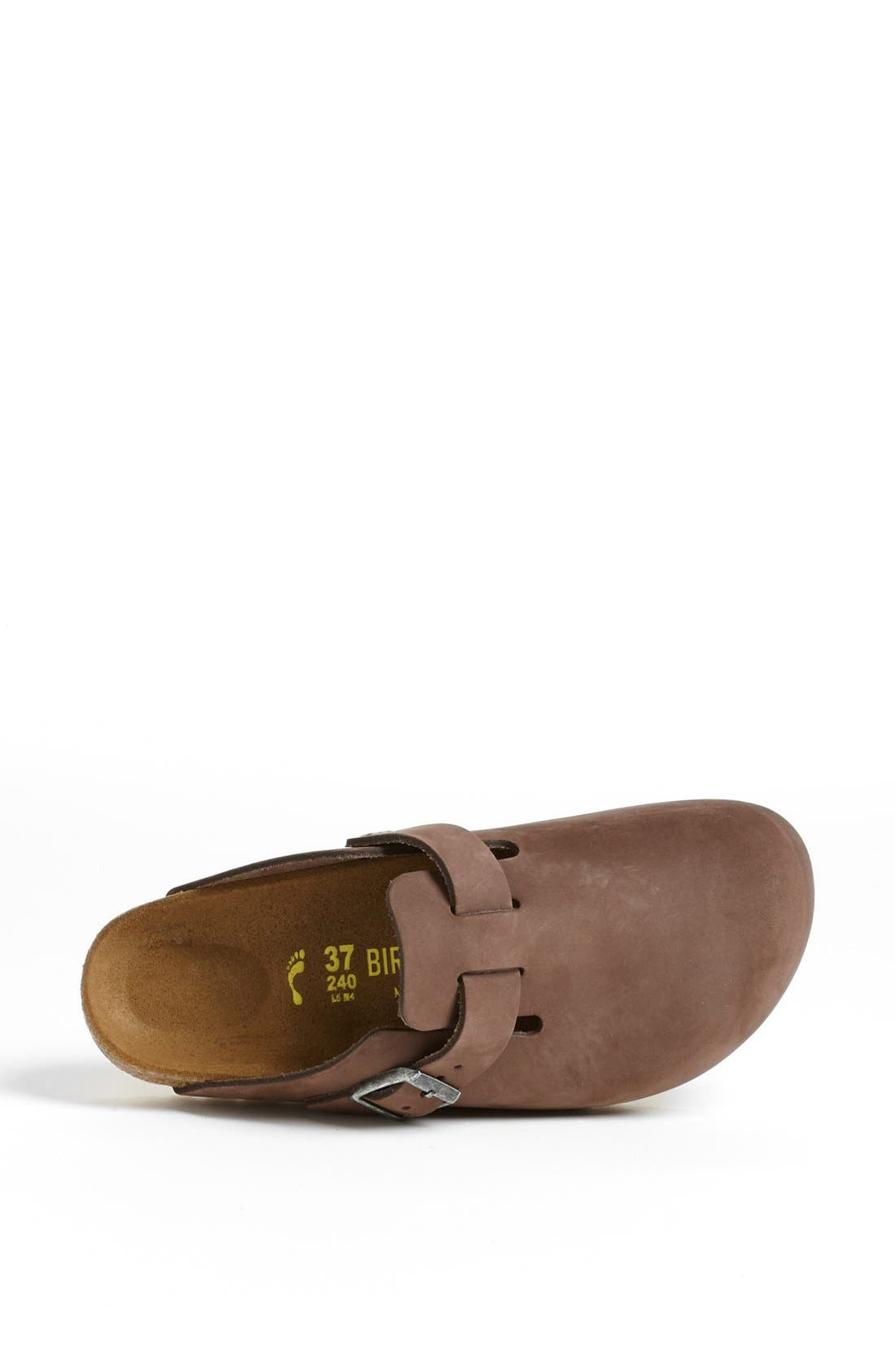 'Boston' Classic Oiled Leather Clog,                             Alternate thumbnail 40, color,