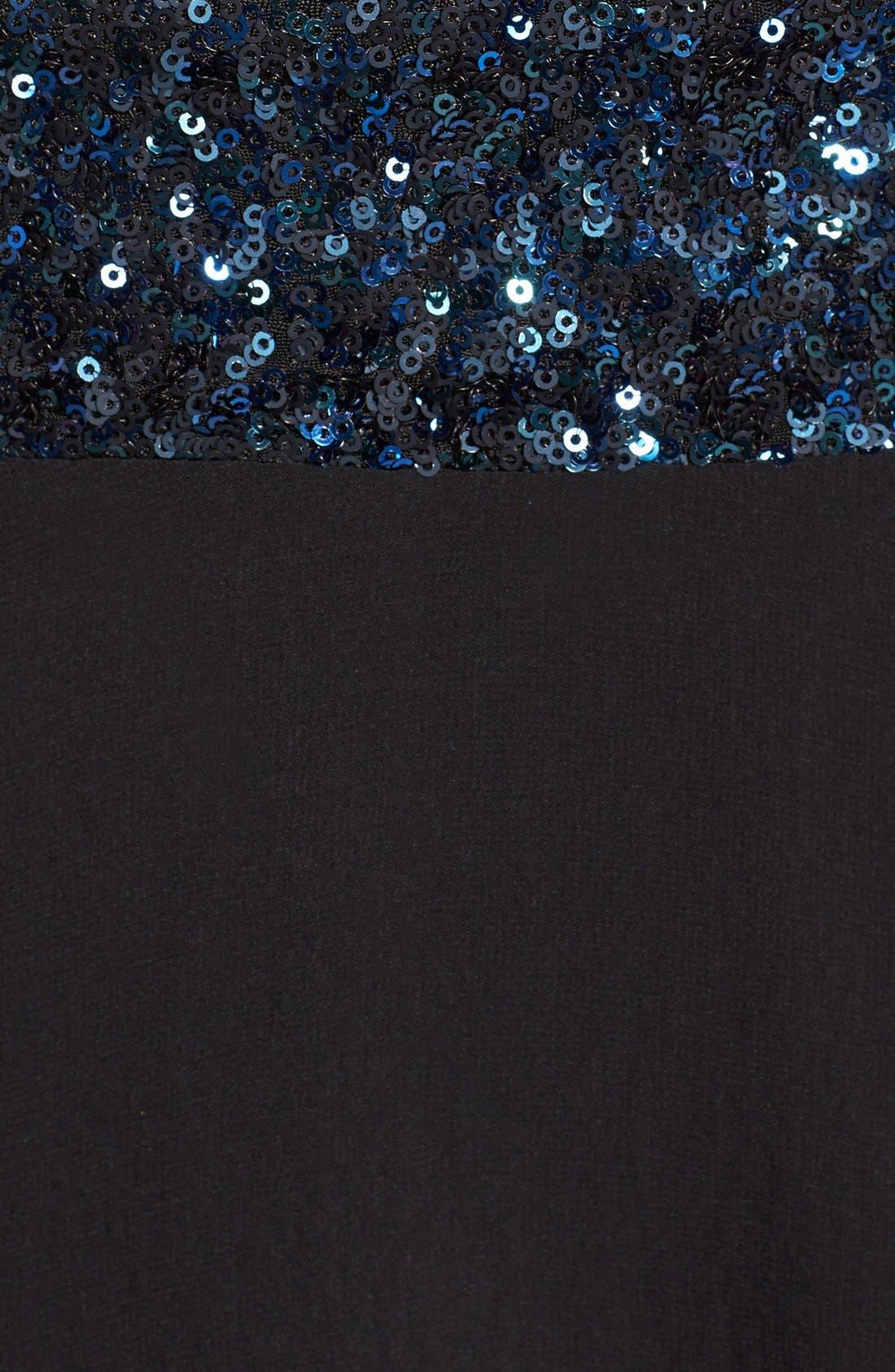 Delani Crepe Gown,                             Alternate thumbnail 26, color,