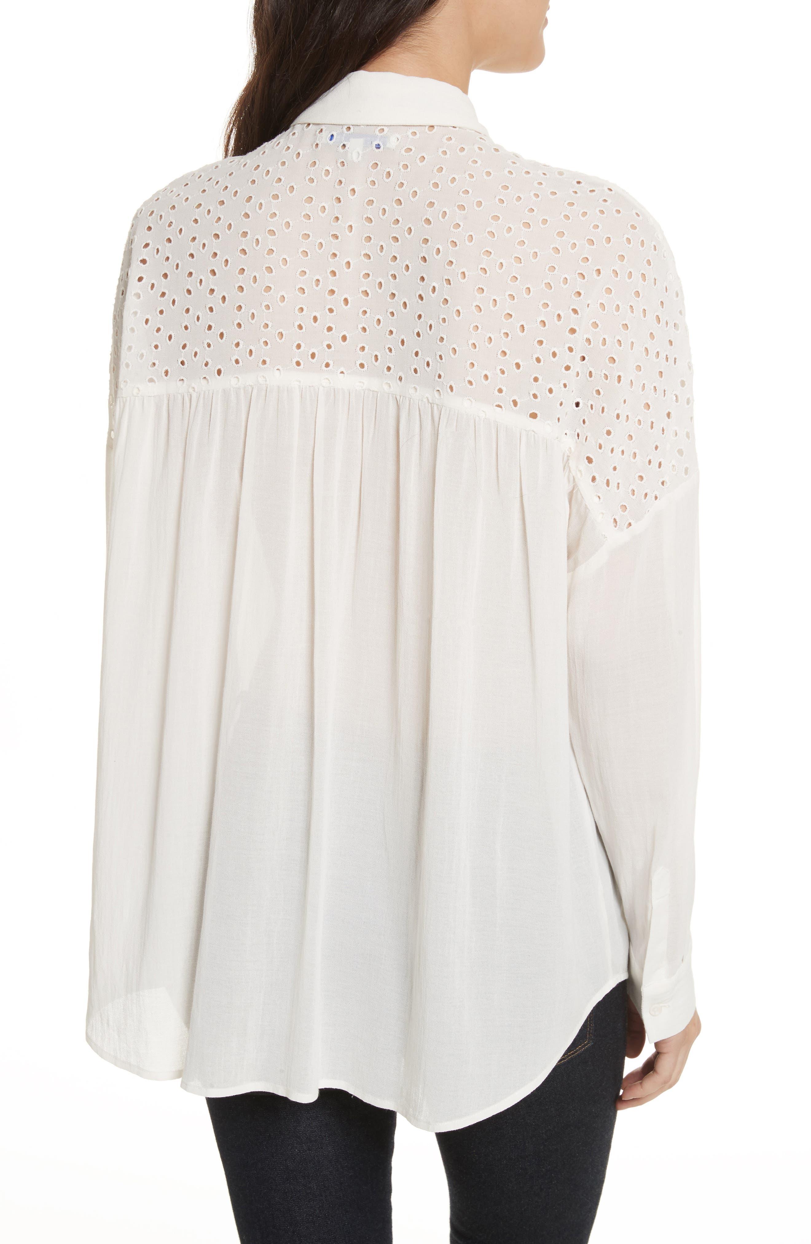 Pearla Shirt,                             Alternate thumbnail 4, color,