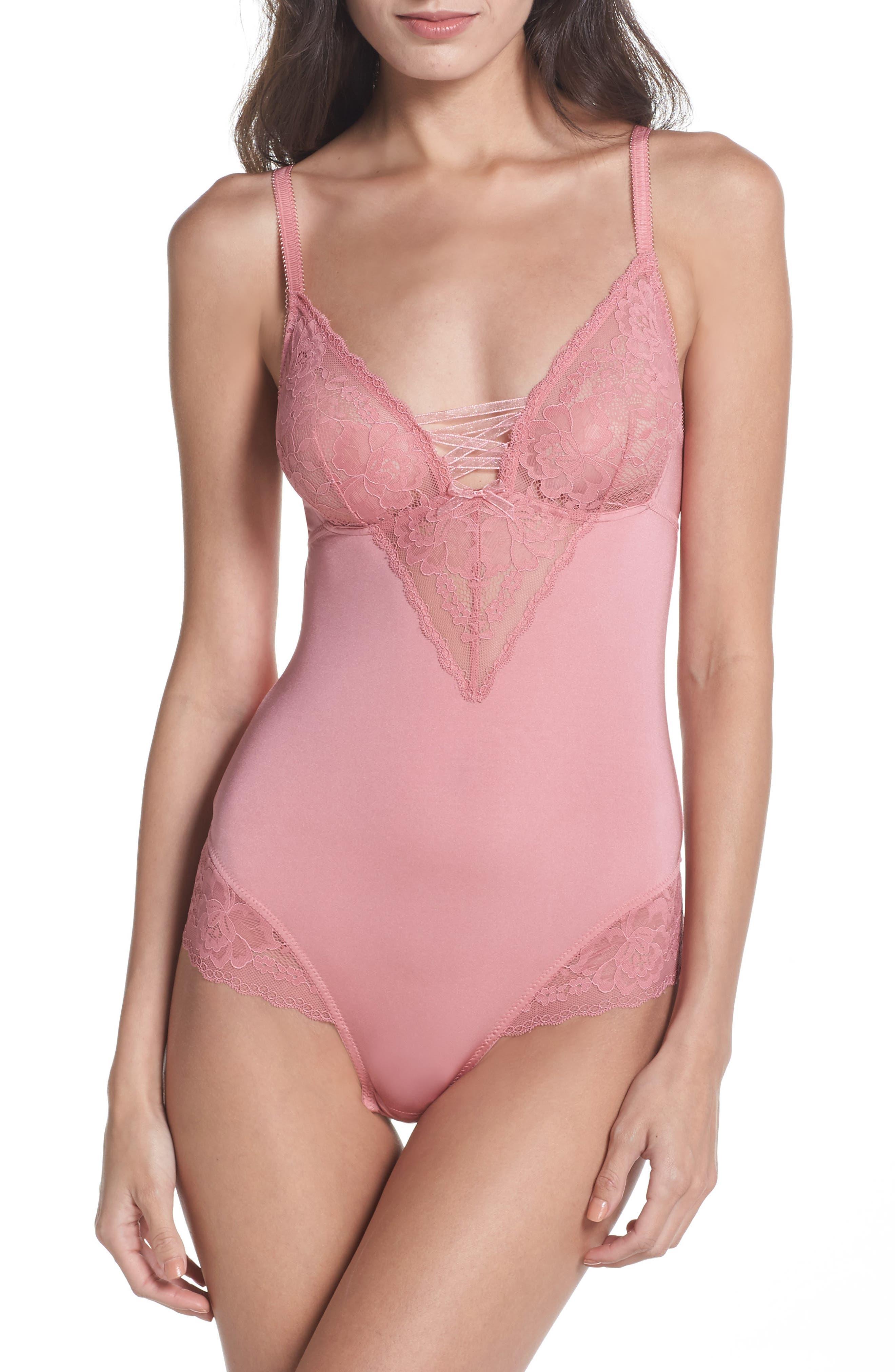Micro Lace Bodysuit,                         Main,                         color,