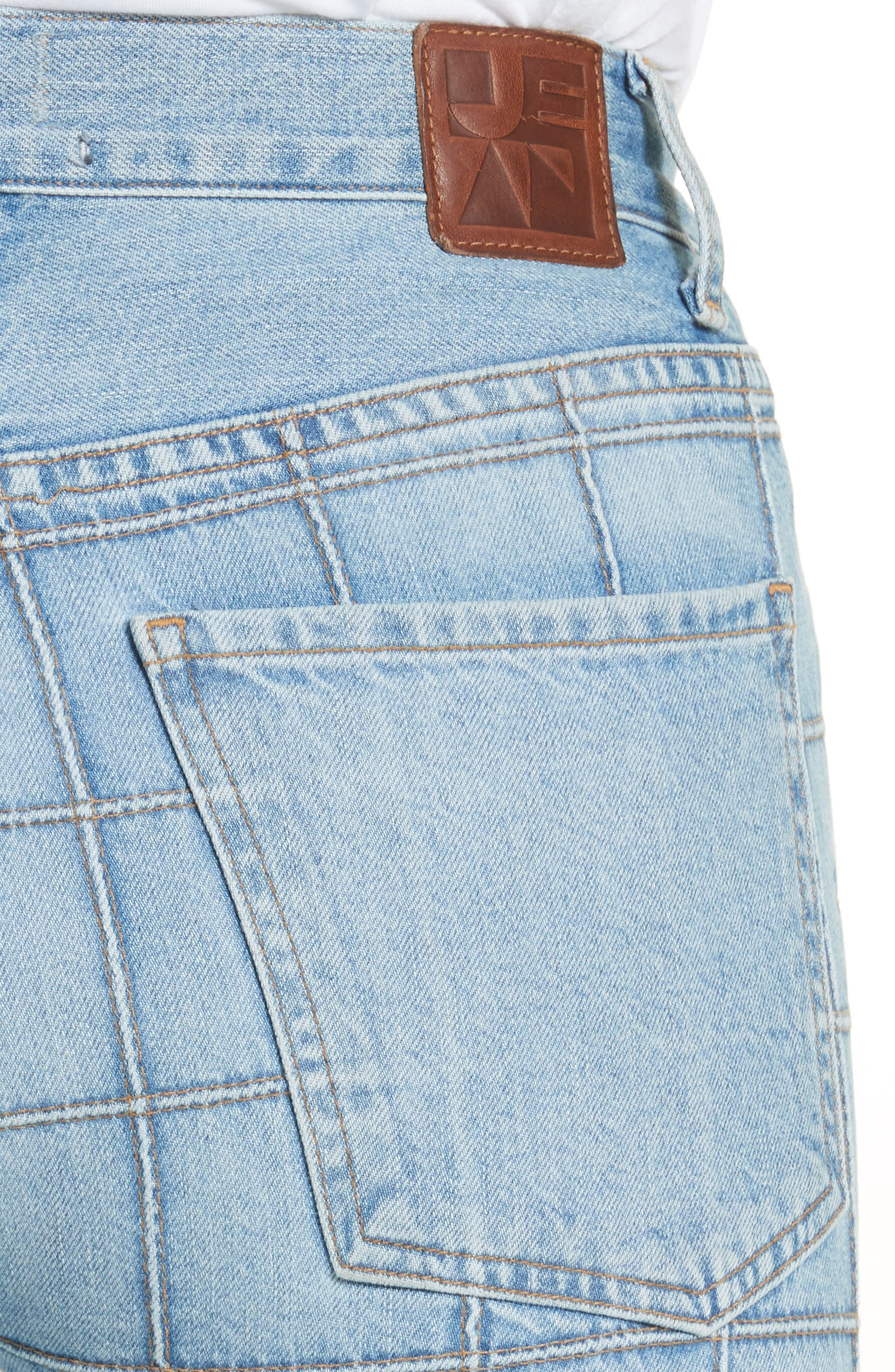 Janis High Rise Flare Jeans,                             Alternate thumbnail 4, color,                             CARNABY