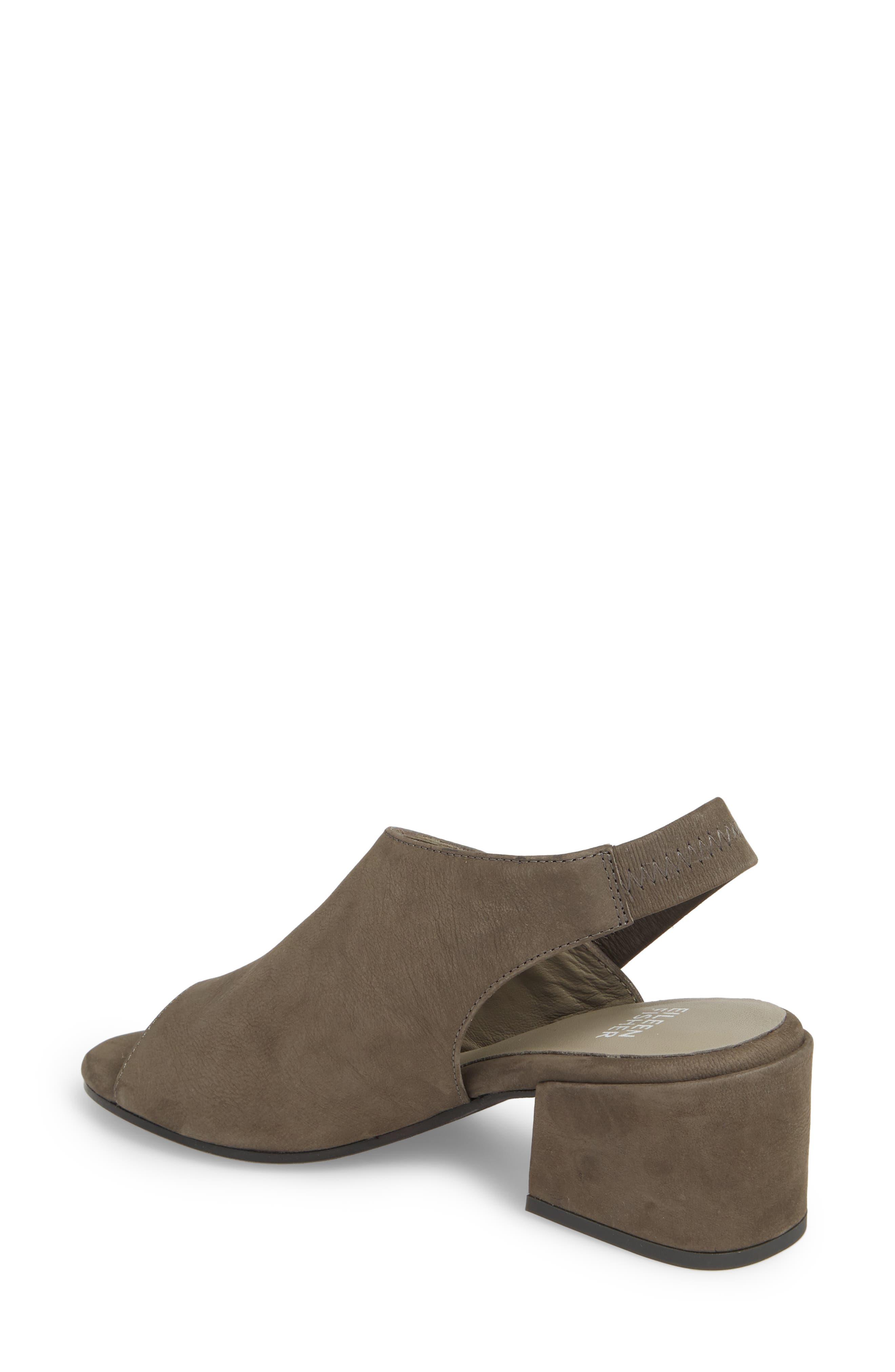 Leigh Asymmetrical Slingback Sandal,                             Alternate thumbnail 6, color,