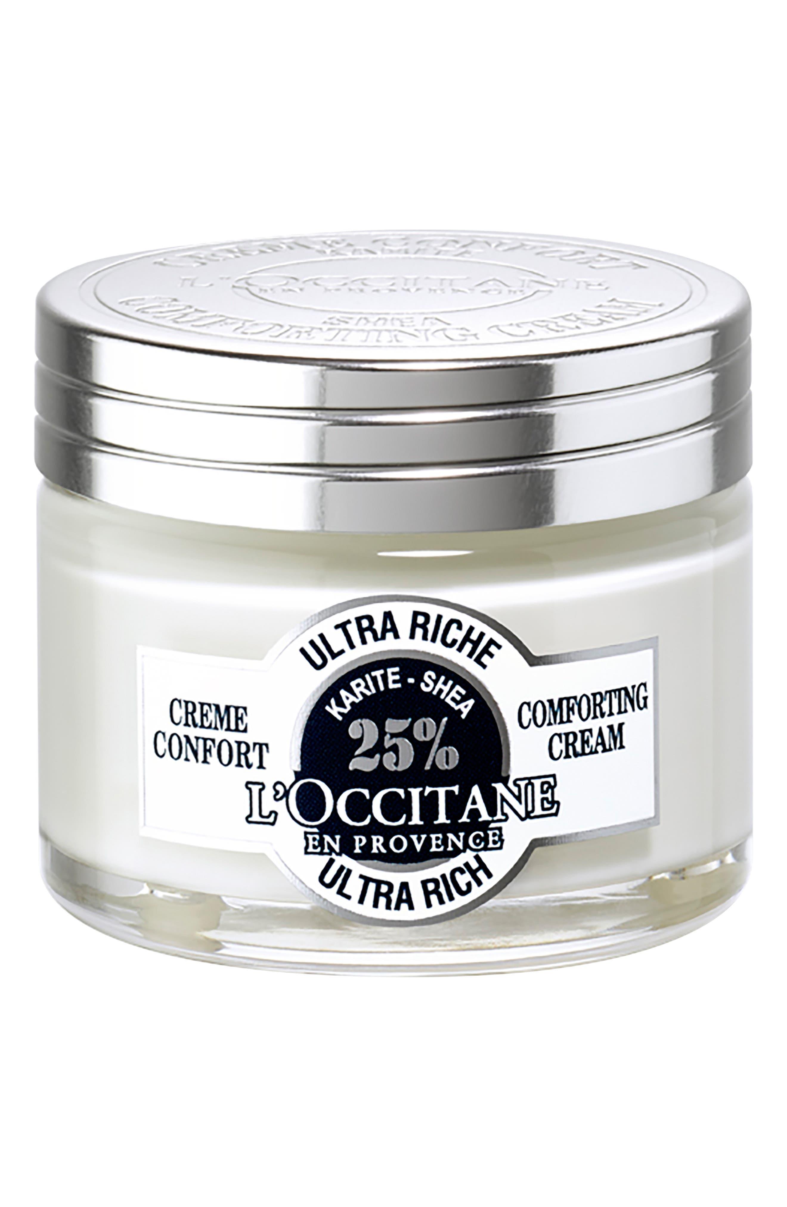 Shea Ultra Rich Comforting Cream,                             Alternate thumbnail 3, color,                             NO COLOR