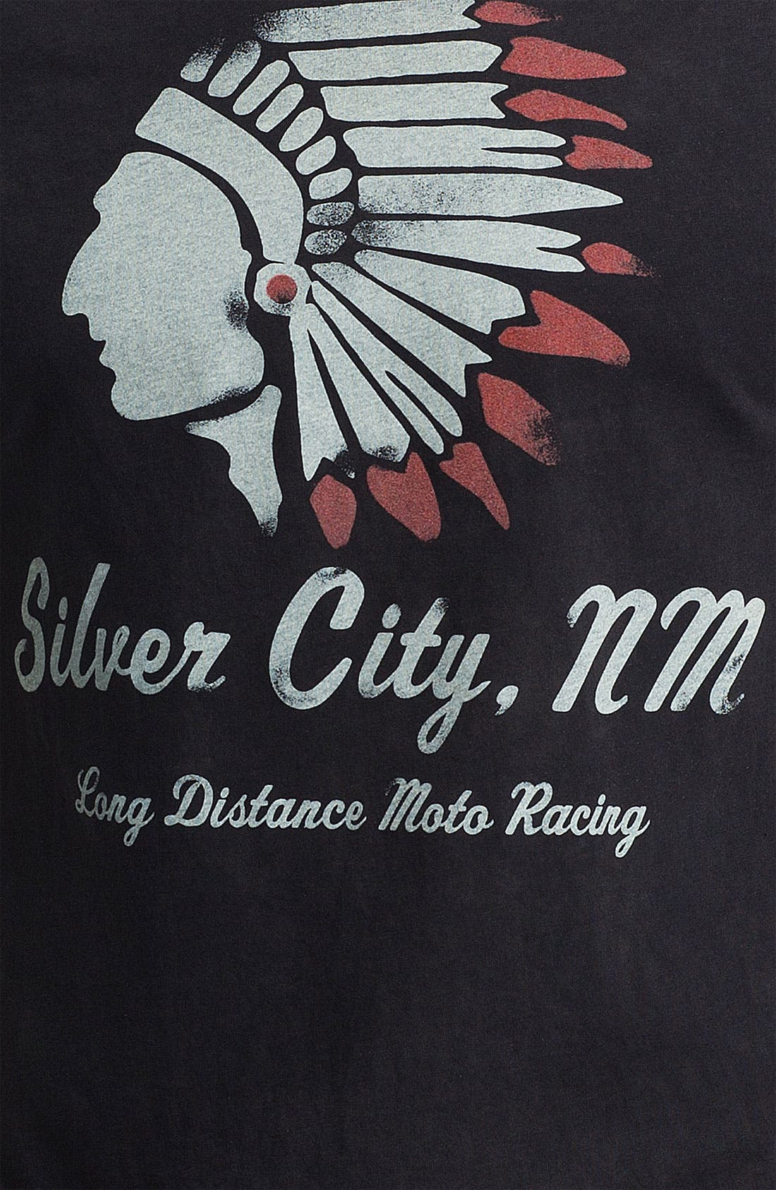 'Silver City, NM' Graphic T-Shirt,                             Alternate thumbnail 3, color,                             001