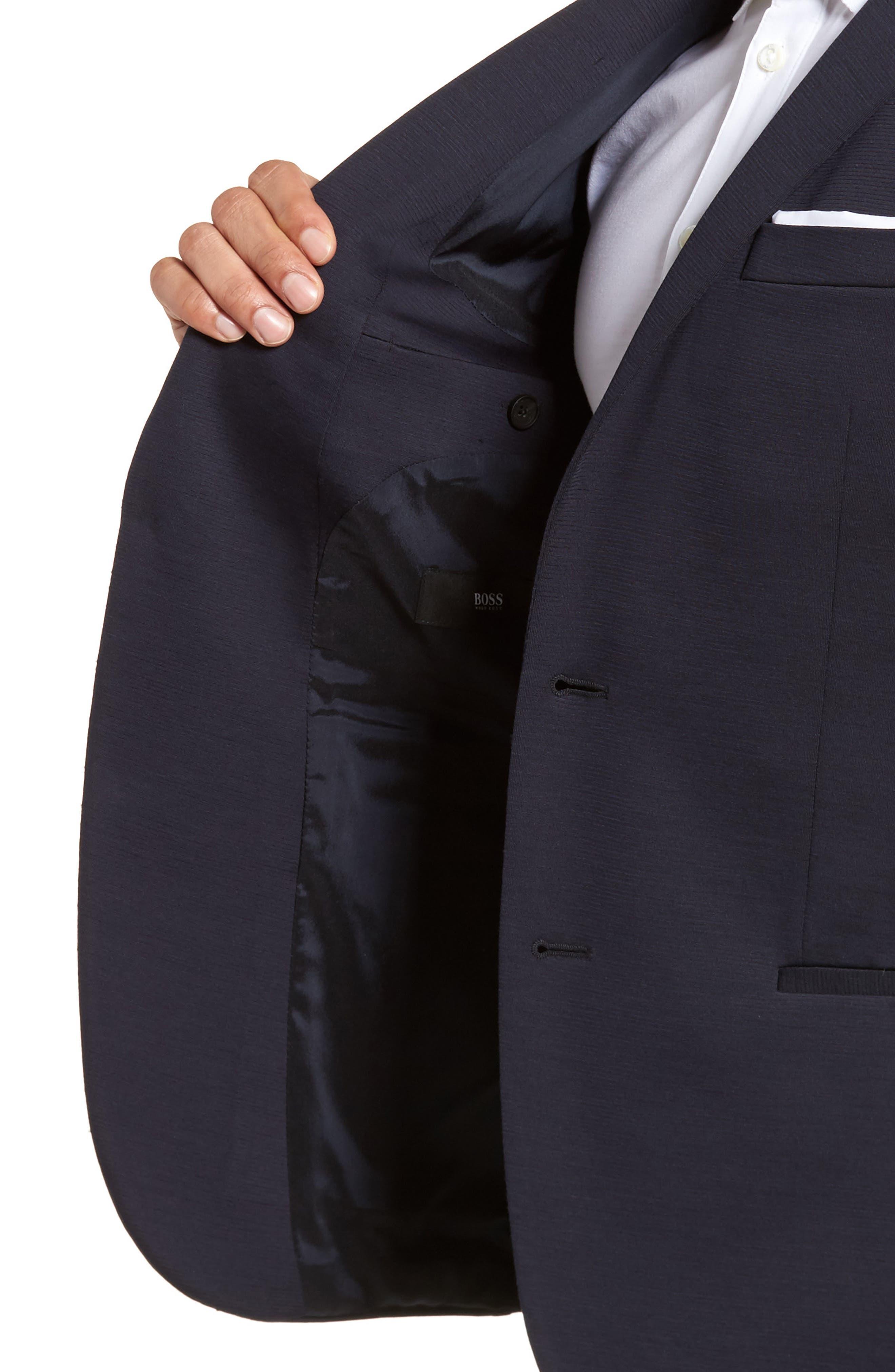Norwin Trim Fit Wool Blend Sport Coat,                             Alternate thumbnail 4, color,                             410