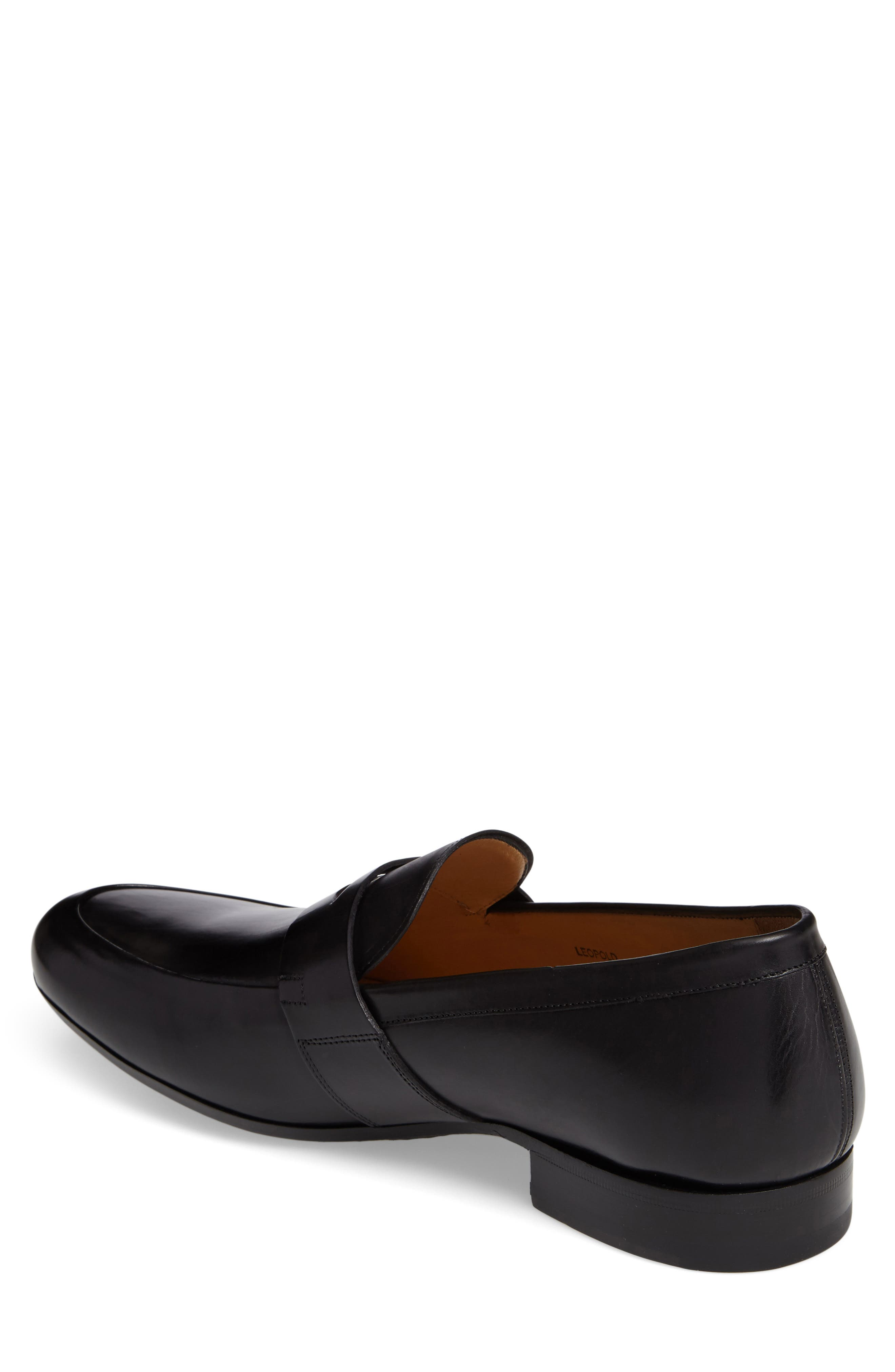 Leopold Penny Loafer,                             Alternate thumbnail 2, color,                             001