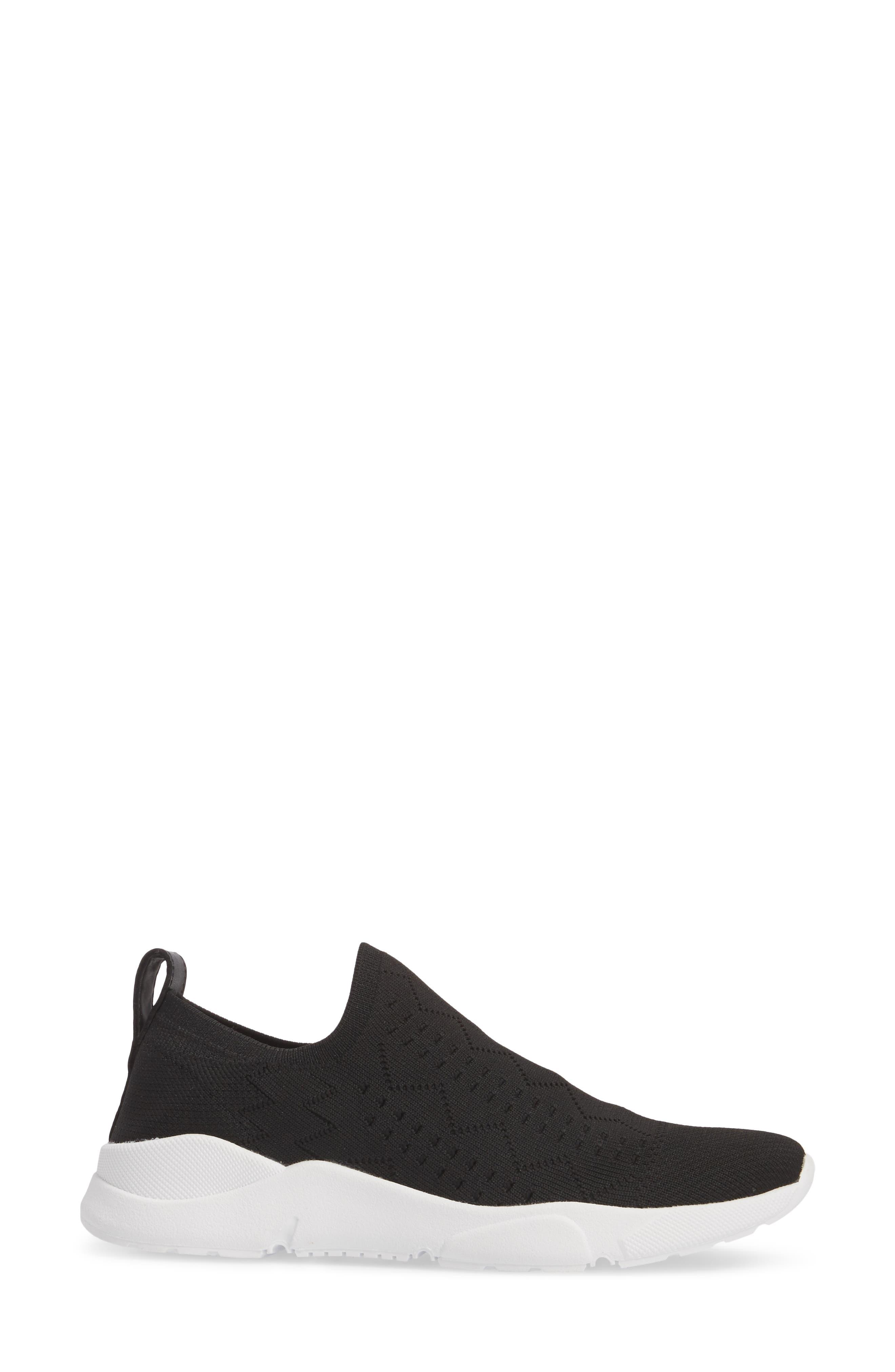Karrie Slip-On Sneaker,                             Alternate thumbnail 3, color,                             001