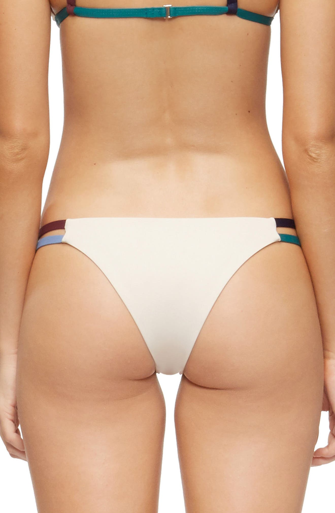 Vine Cheeky Bikini Bottoms,                             Alternate thumbnail 2, color,                             272