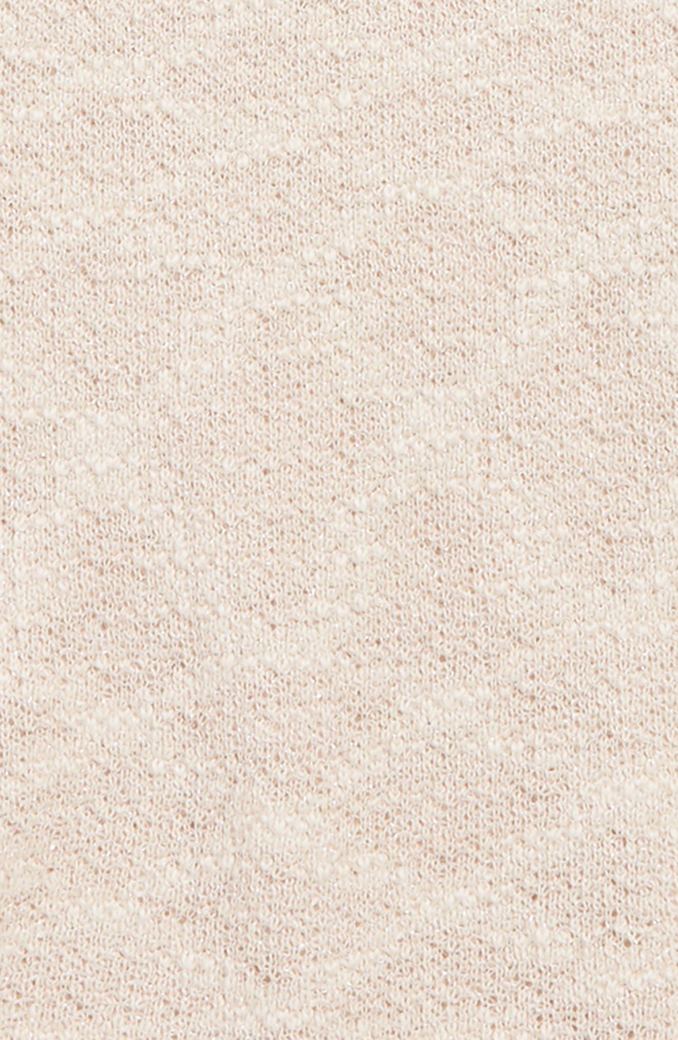 Cold Shoulder Sparkle Sweater,                             Alternate thumbnail 2, color,                             691