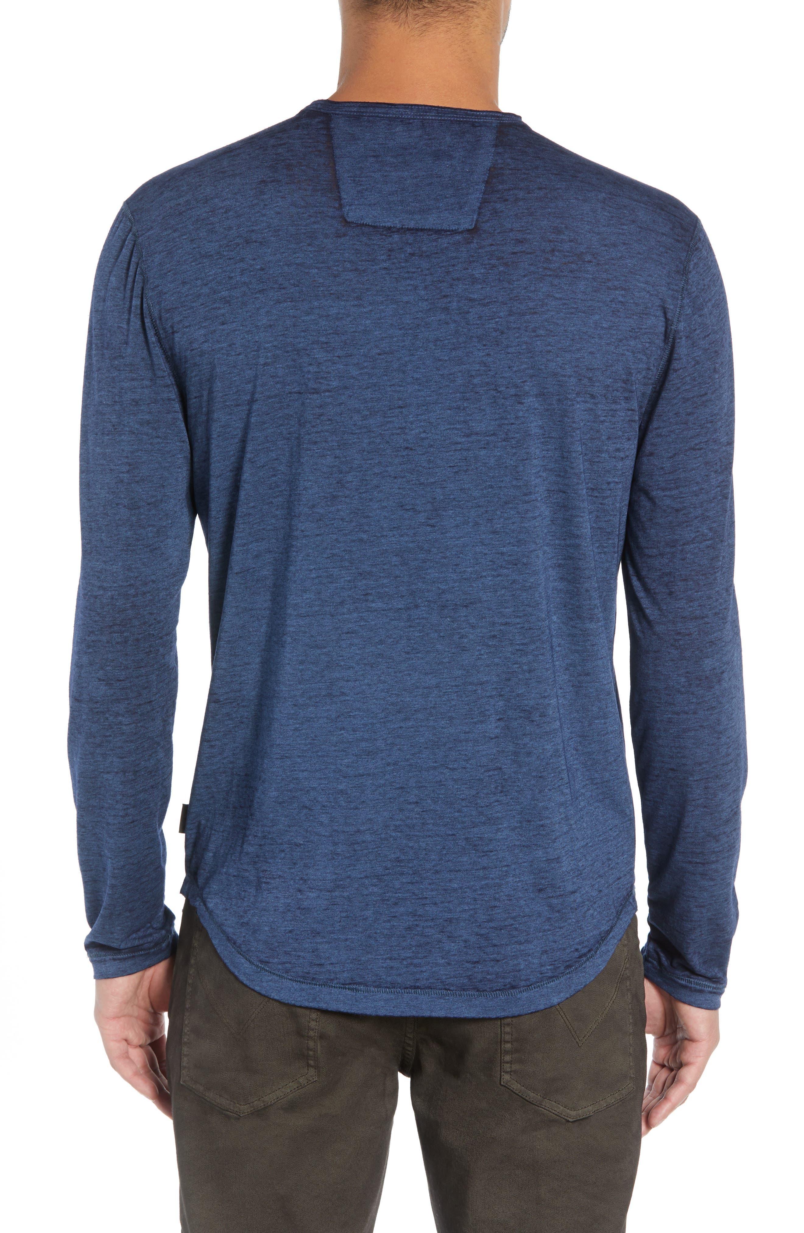Burnout Long Sleeve T-Shirt,                             Alternate thumbnail 2, color,                             410