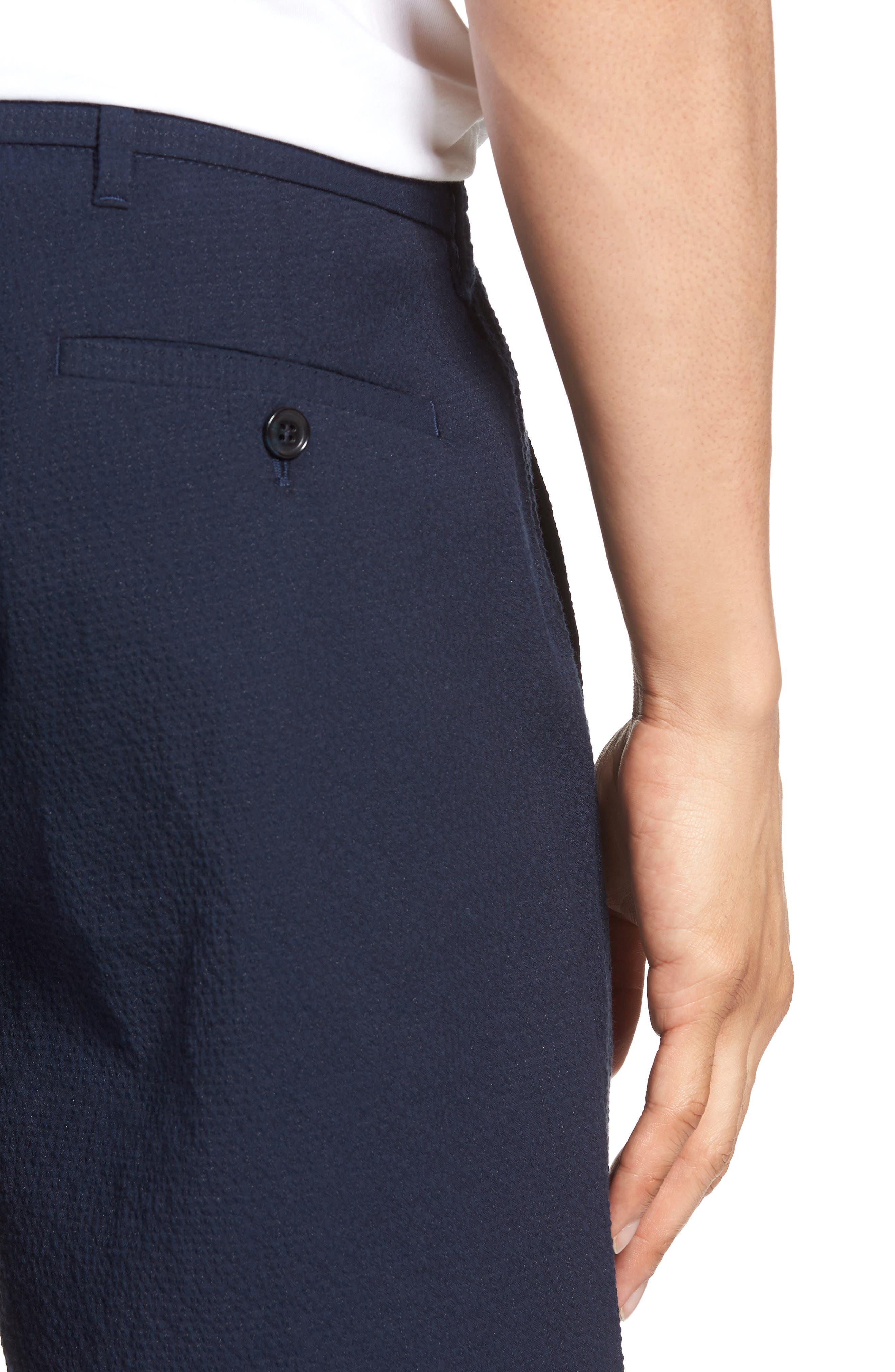 Costa Cotton Blend Shorts,                             Alternate thumbnail 4, color,                             410