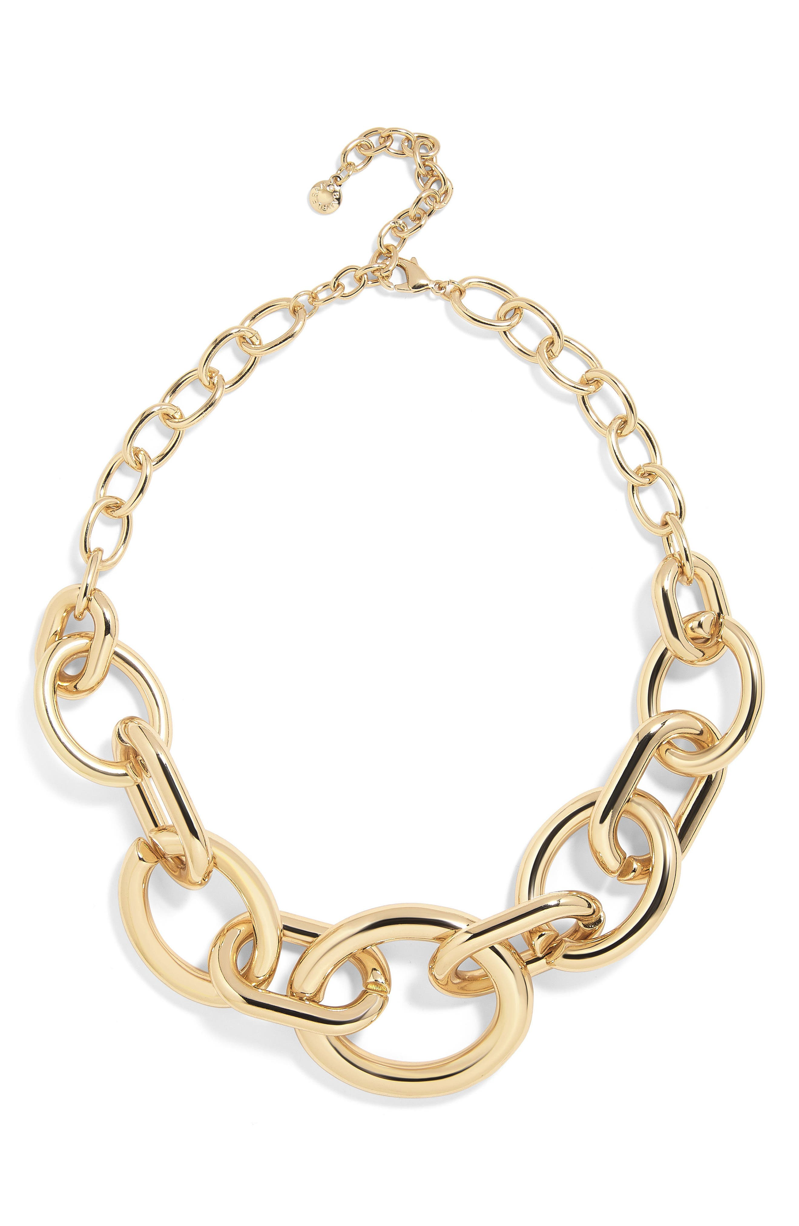 Mardie Linked Statement Necklace,                             Main thumbnail 1, color,                             719