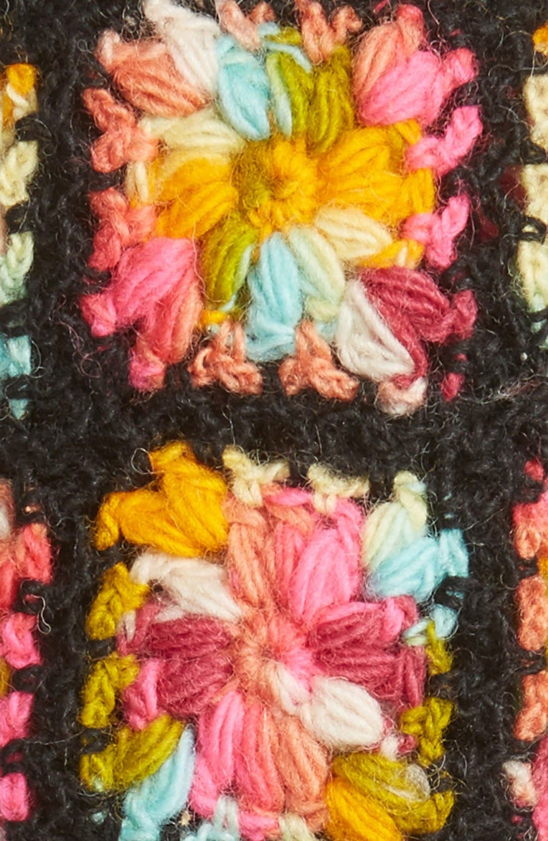 Flower Crochet Hand Warmers,                             Alternate thumbnail 11, color,