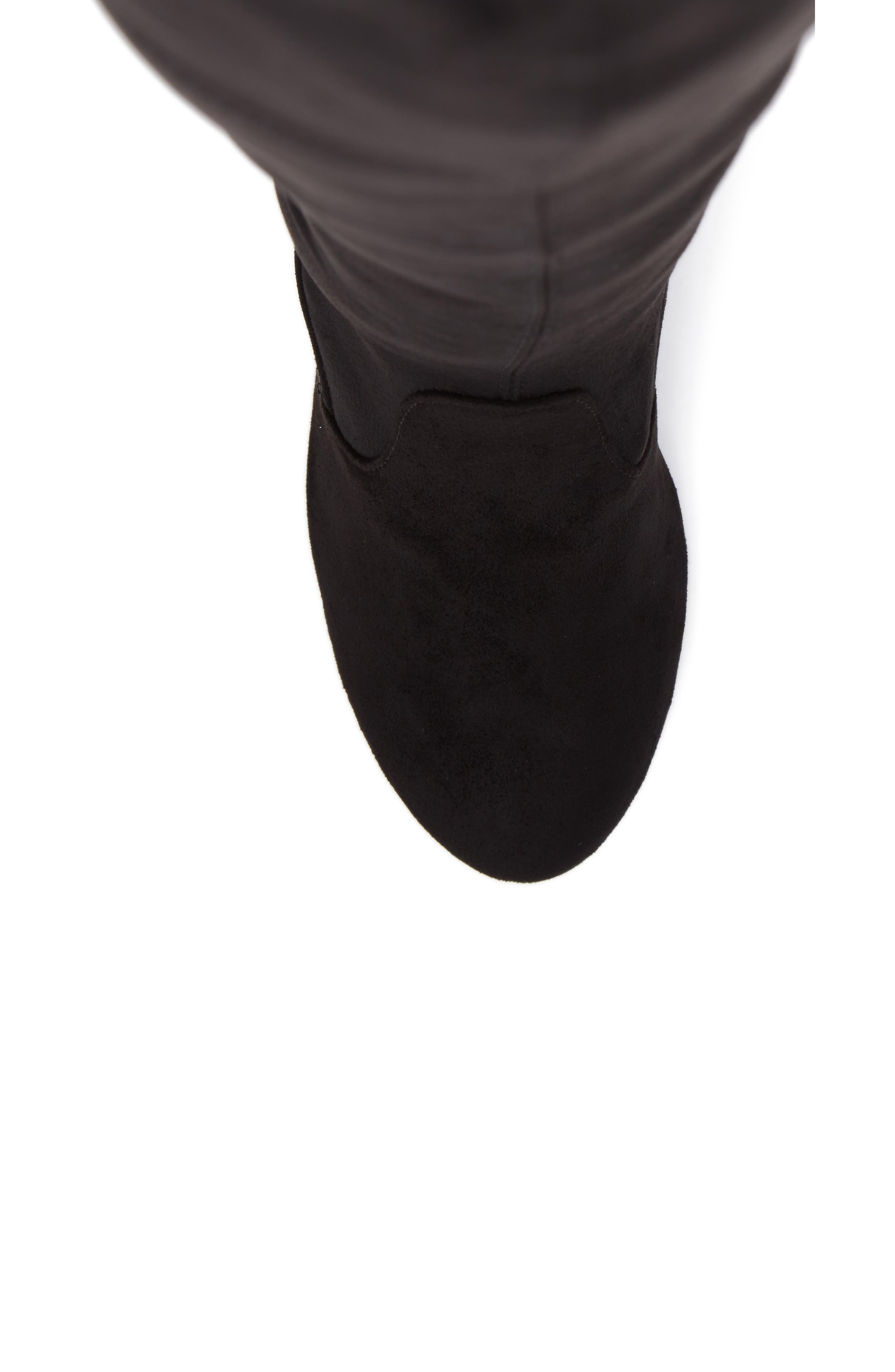 Brinna Over the Knee Boot,                             Alternate thumbnail 5, color,                             001