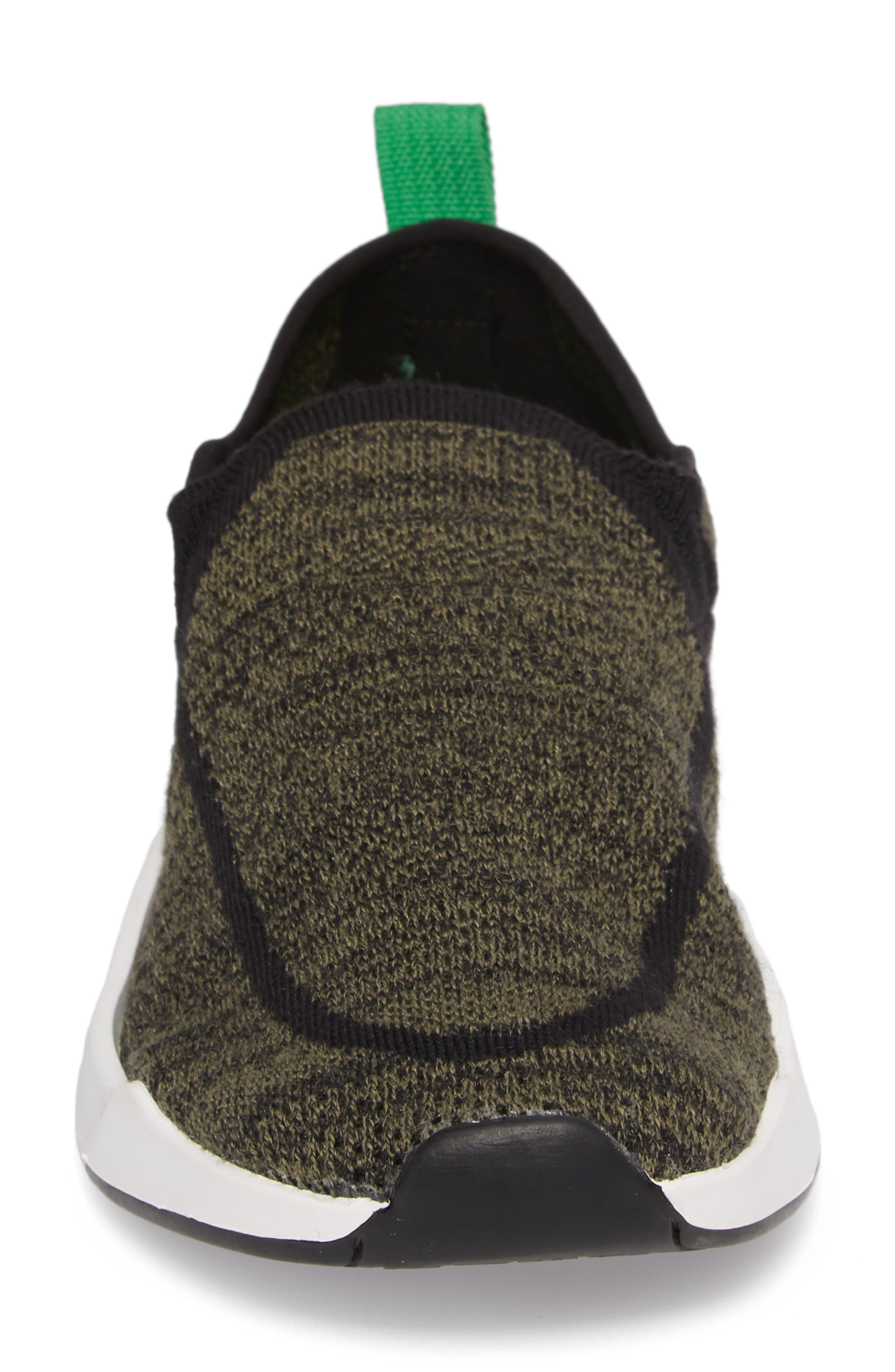 Chiba Quest Knit Slip-On Sneaker,                             Alternate thumbnail 4, color,                             OLIVE