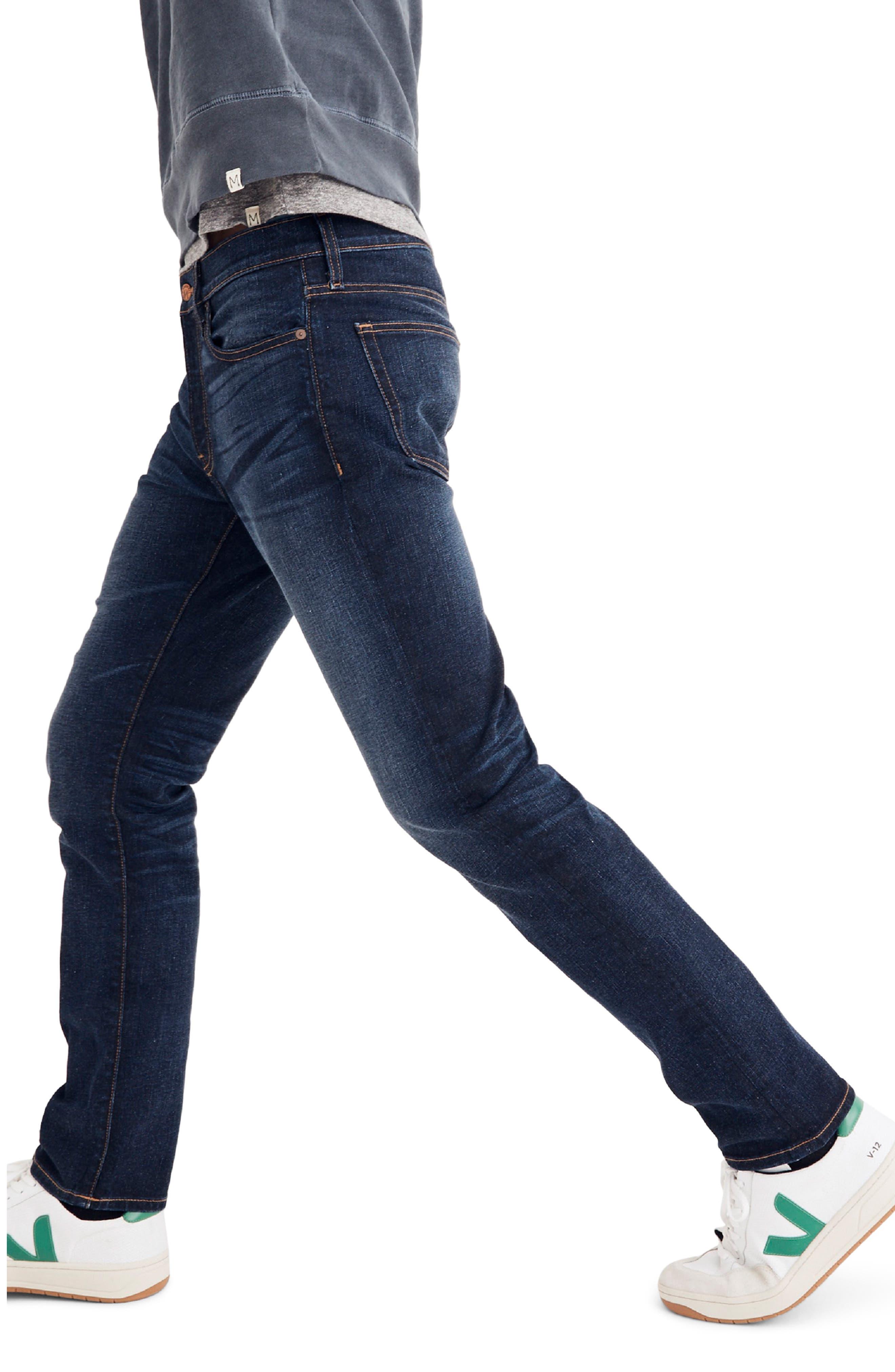Slim Fit Jeans,                             Alternate thumbnail 3, color,                             BAXLEY
