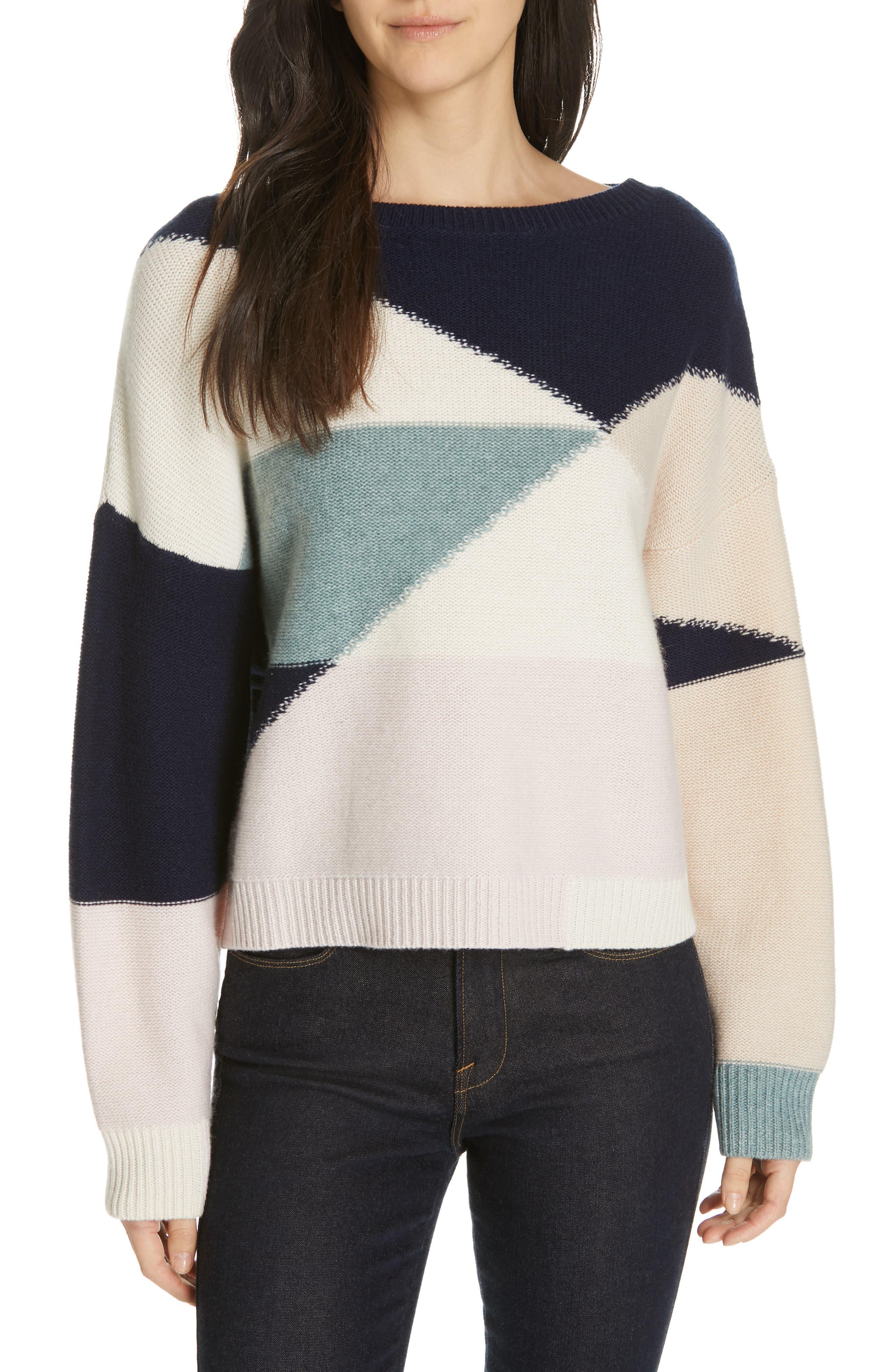 Joie Megu Wool & Cashmere Sweater, White