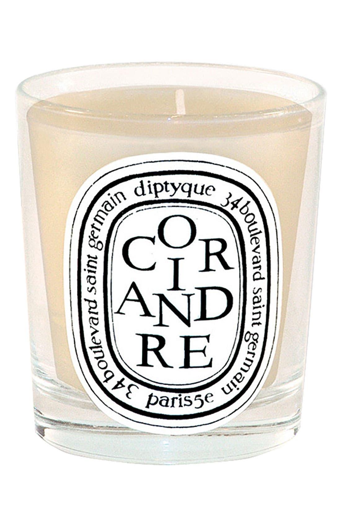 Coriandre/Coriander Scented Candle,                             Main thumbnail 1, color,                             NO COLOR