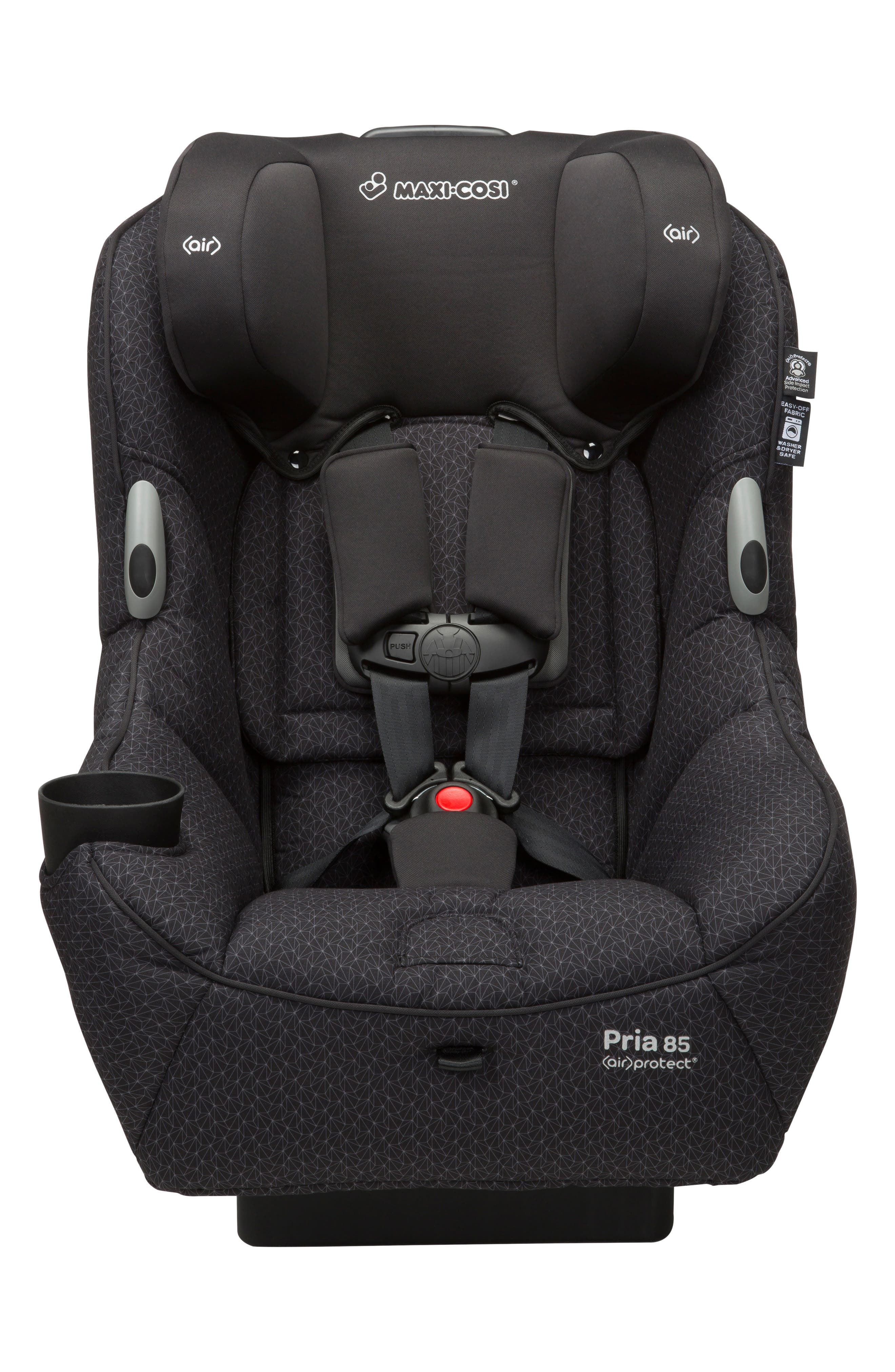 Pria<sup>™</sup> 85 Black Crystal Special Edition Car Seat,                             Alternate thumbnail 7, color,                             002