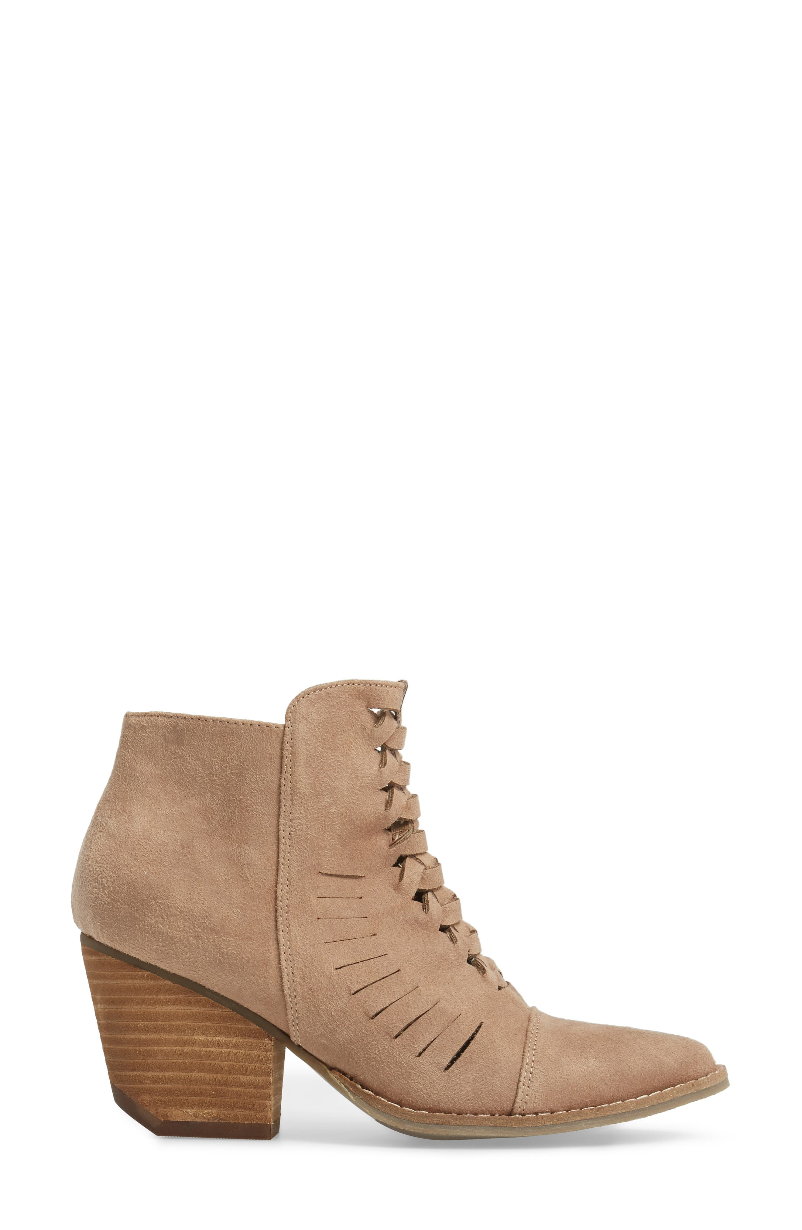 Ally Woven Bootie,                             Alternate thumbnail 7, color,