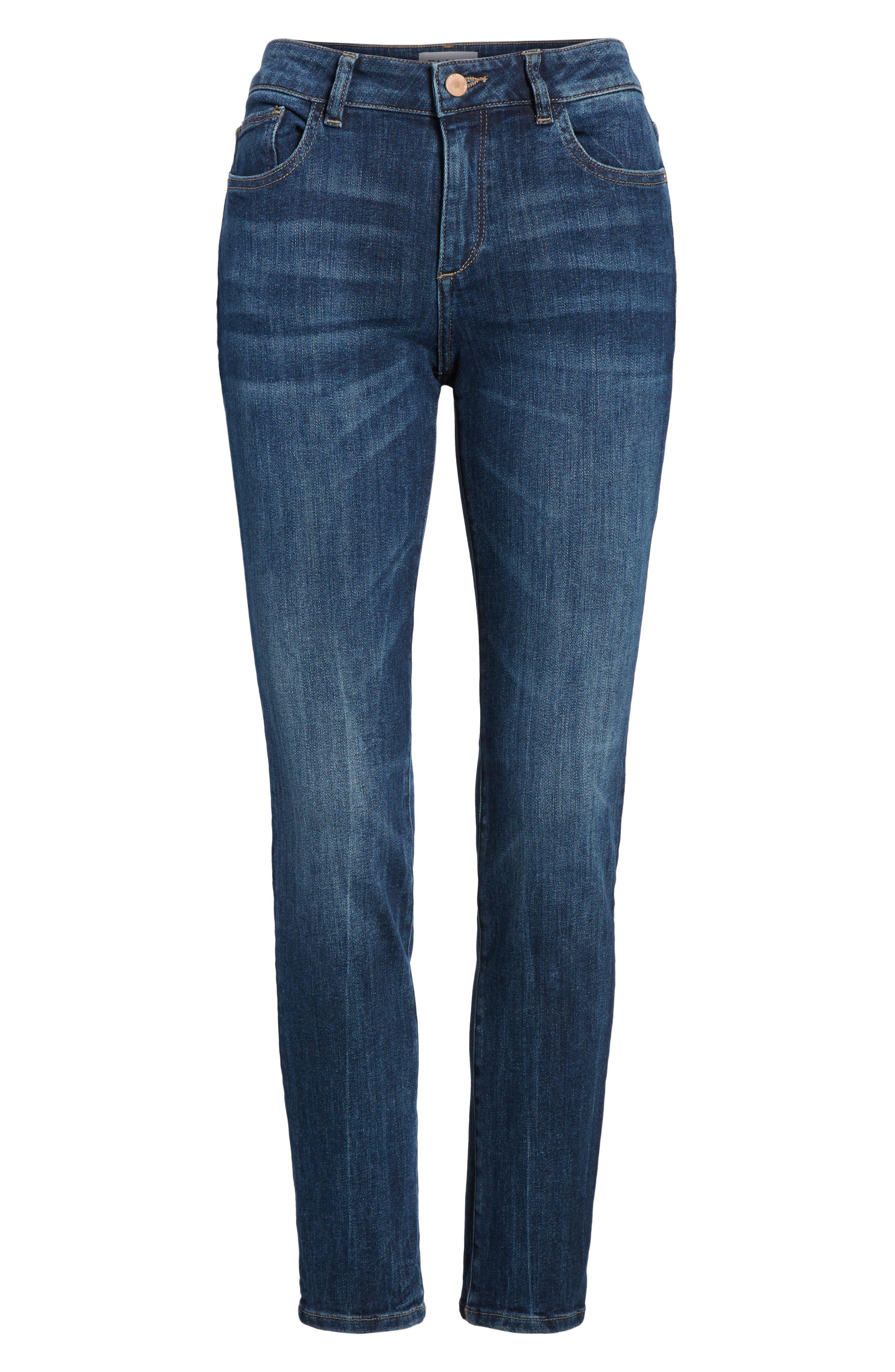 DL1961,                             Angel Instasculpt Skinny Cigarette Jeans,                             Alternate thumbnail 7, color,                             405